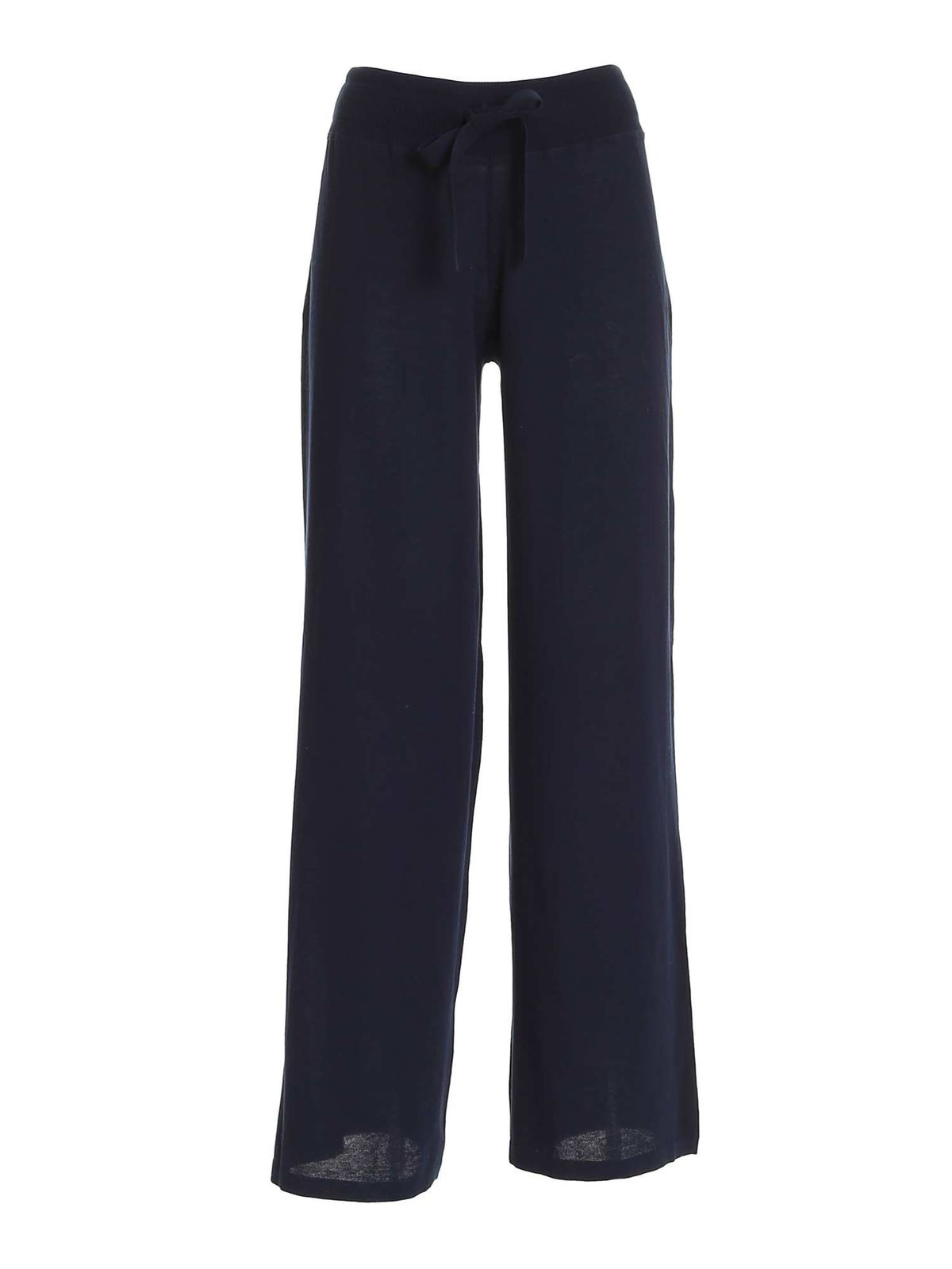 Malo Pants DRAWSTRING PANTS IN BLUE