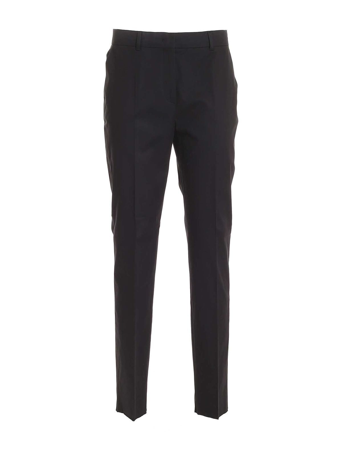 Max Mara Nichel Pants In Black