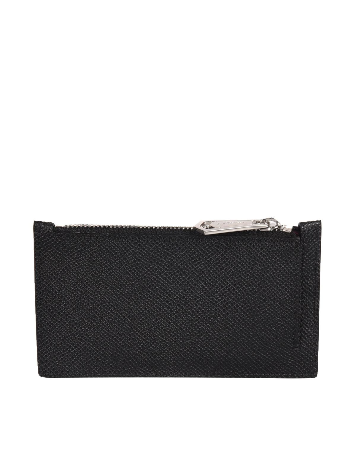 Givenchy ZIPPED CARD HOLDER IN BLACK