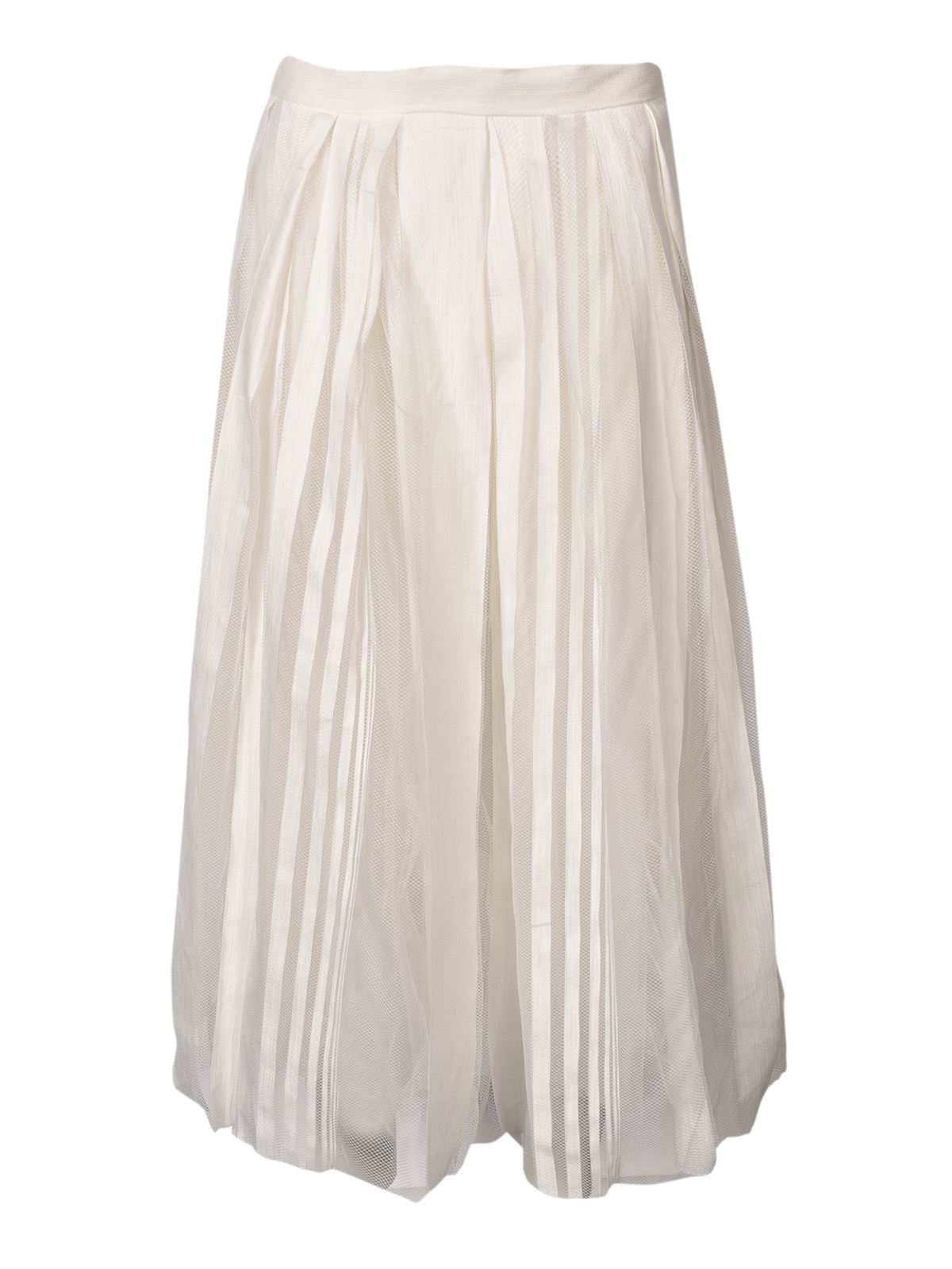 Fabiana Filippi TULLE SKIRT IN WHITE
