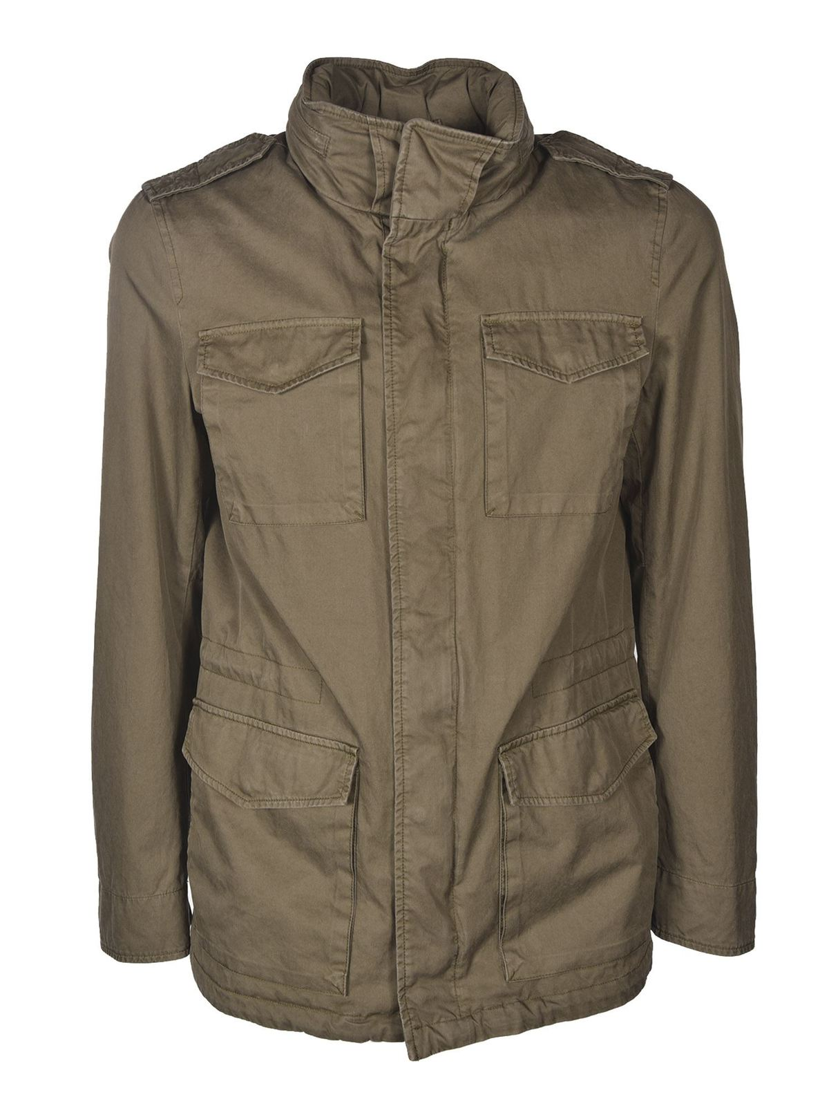 Herno FIELD JACKET IN MILITARY GREEN