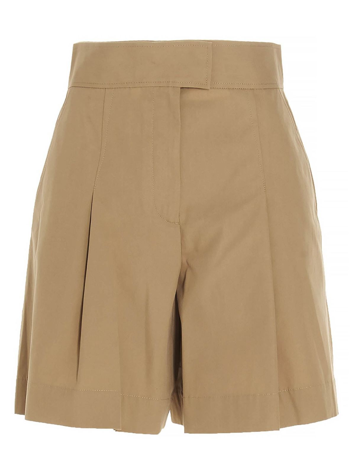 A.p.c. Cottons DIANE SHORTS IN CAMEL COLOR