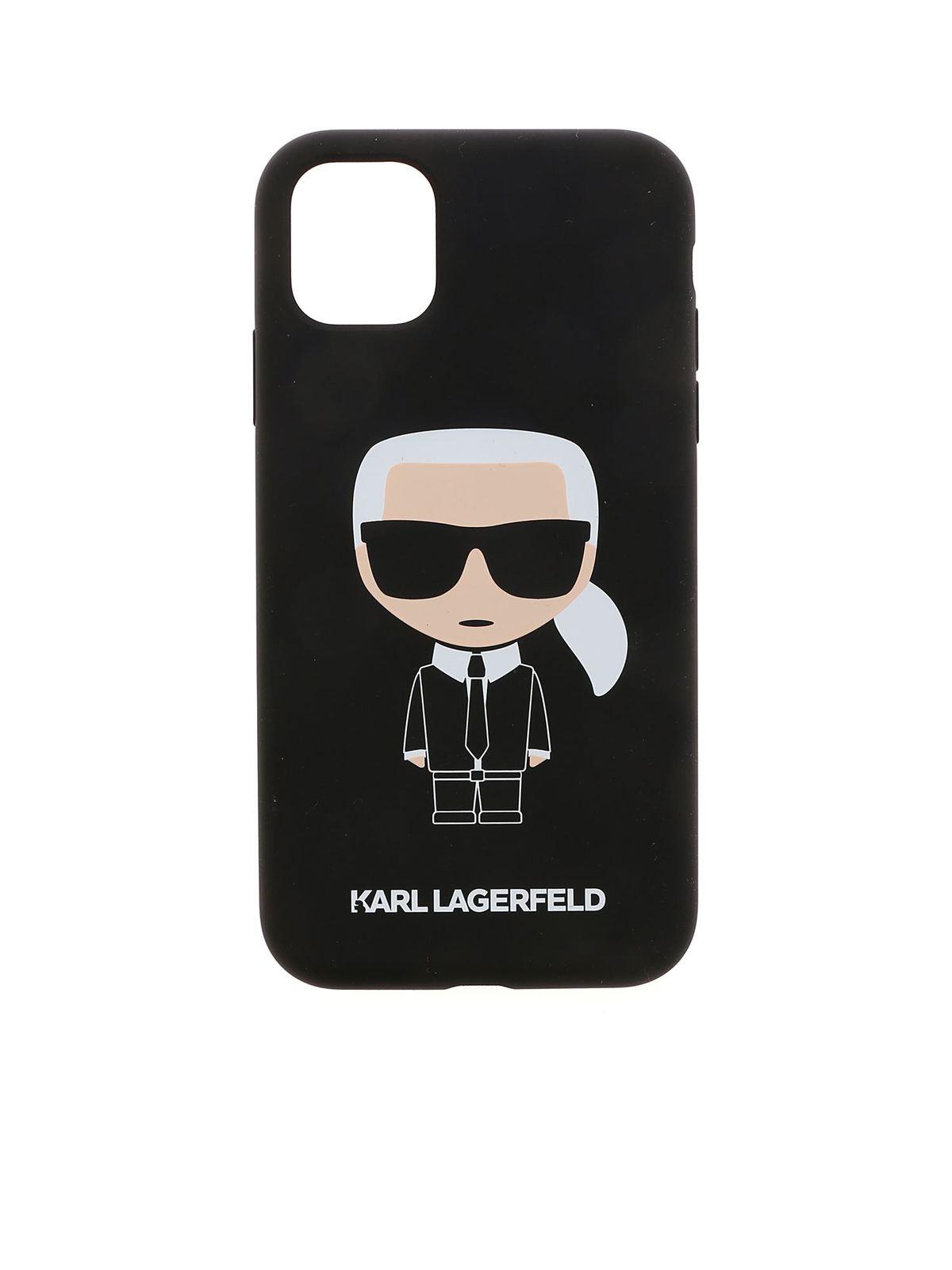Karl Lagerfeld K IKONIC IPHONE 11 CASE IN BLACK