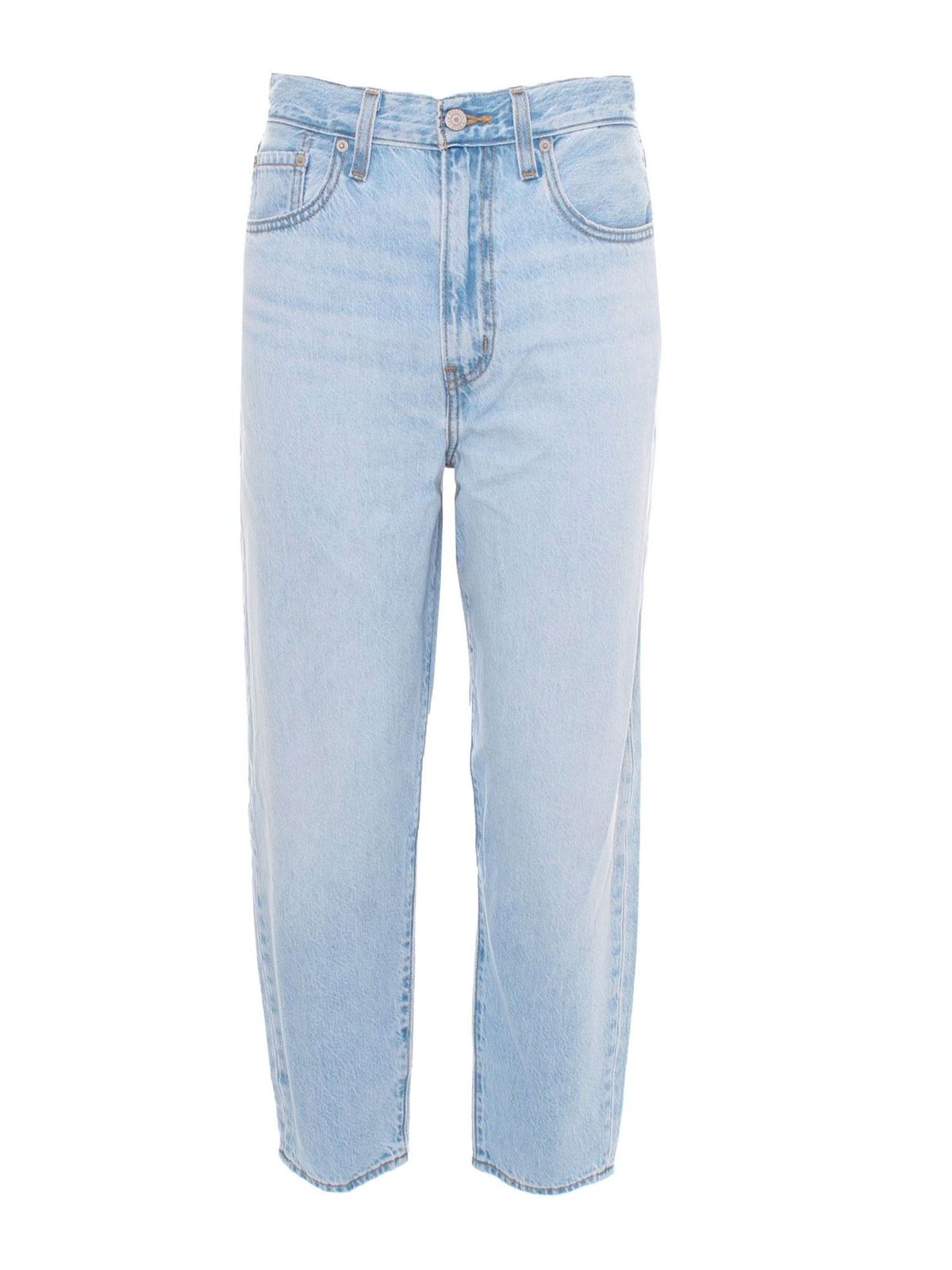 Levi's HIGH LOOSE TAPER JEANS IN LIGHT BLUE