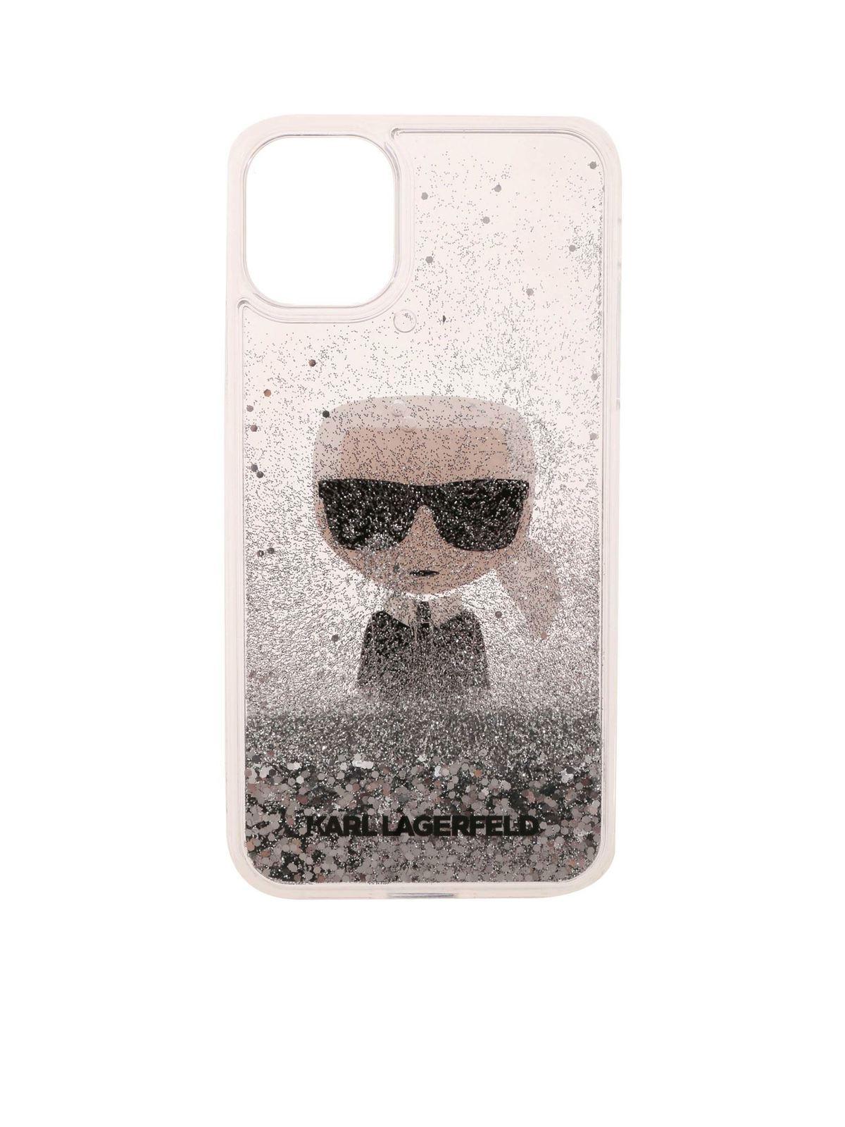 Karl Lagerfeld KIKONIC IPHONE 11 TRANSPARENT COVER