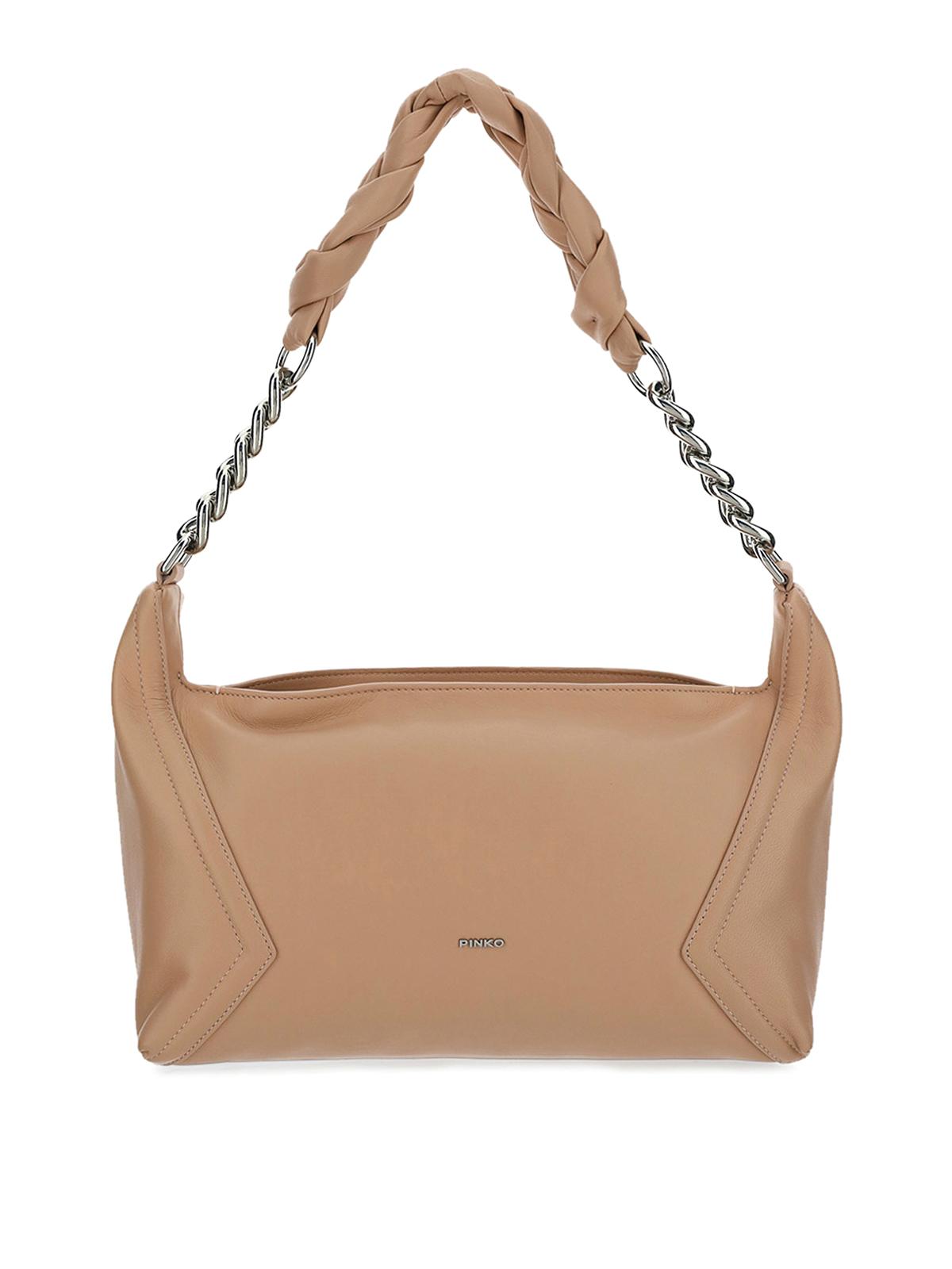 Pinko Leathers MEDIUM HOBO BAG