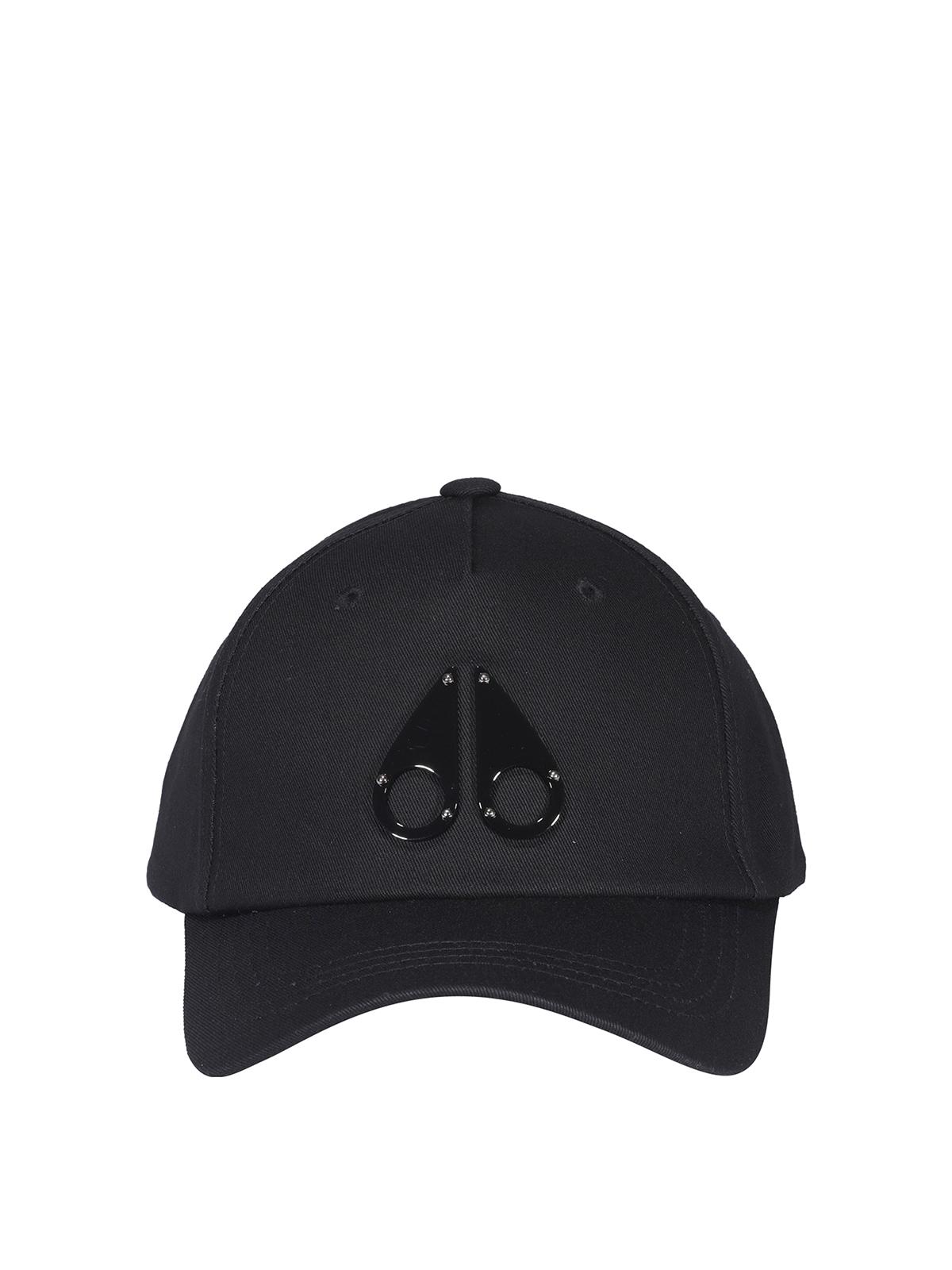 Moose Knuckles Caps COTTON BASEBALL CAP