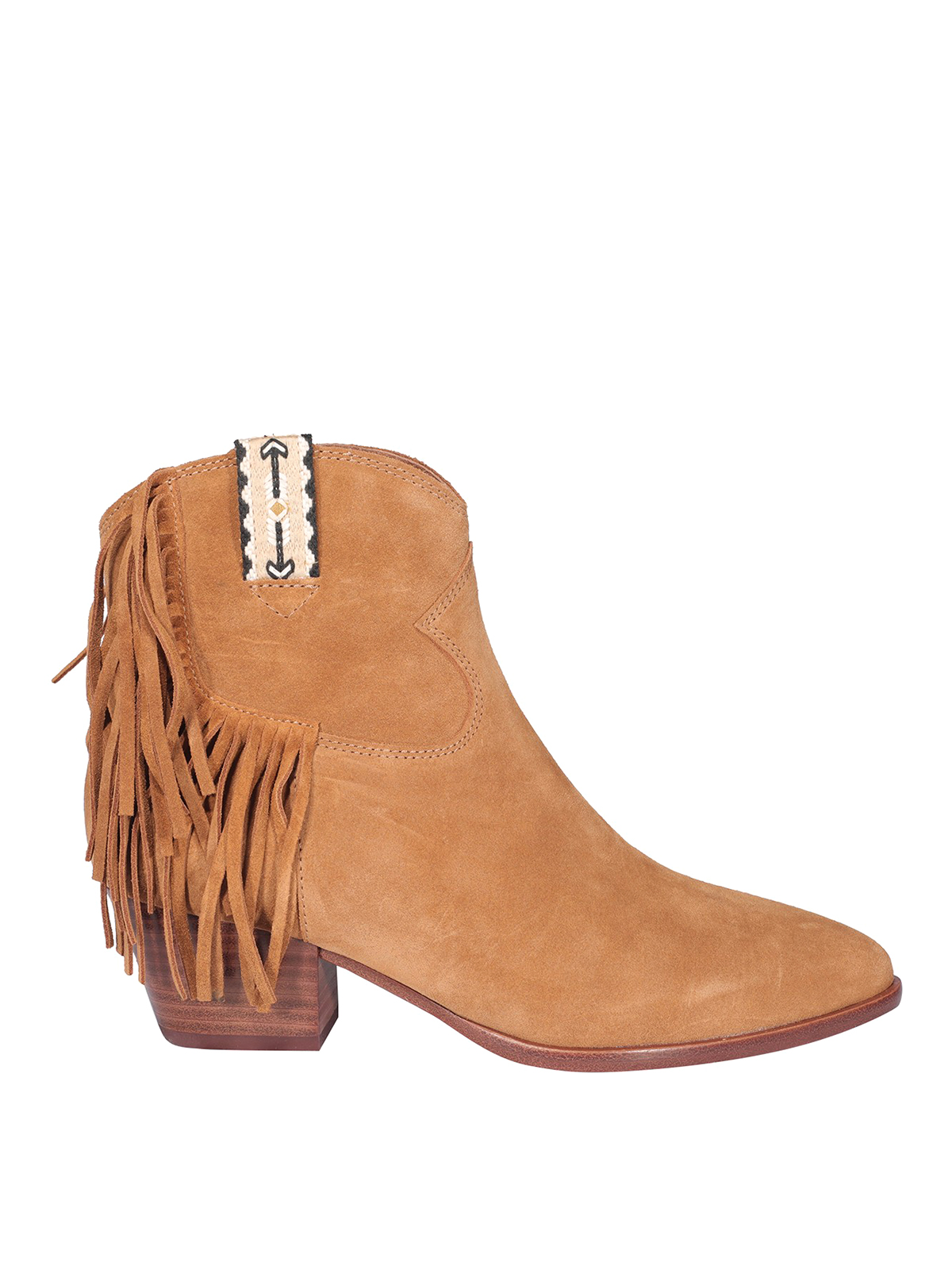 Ash Suedes HYSTERIA SUEDE ANKLE BOOTS