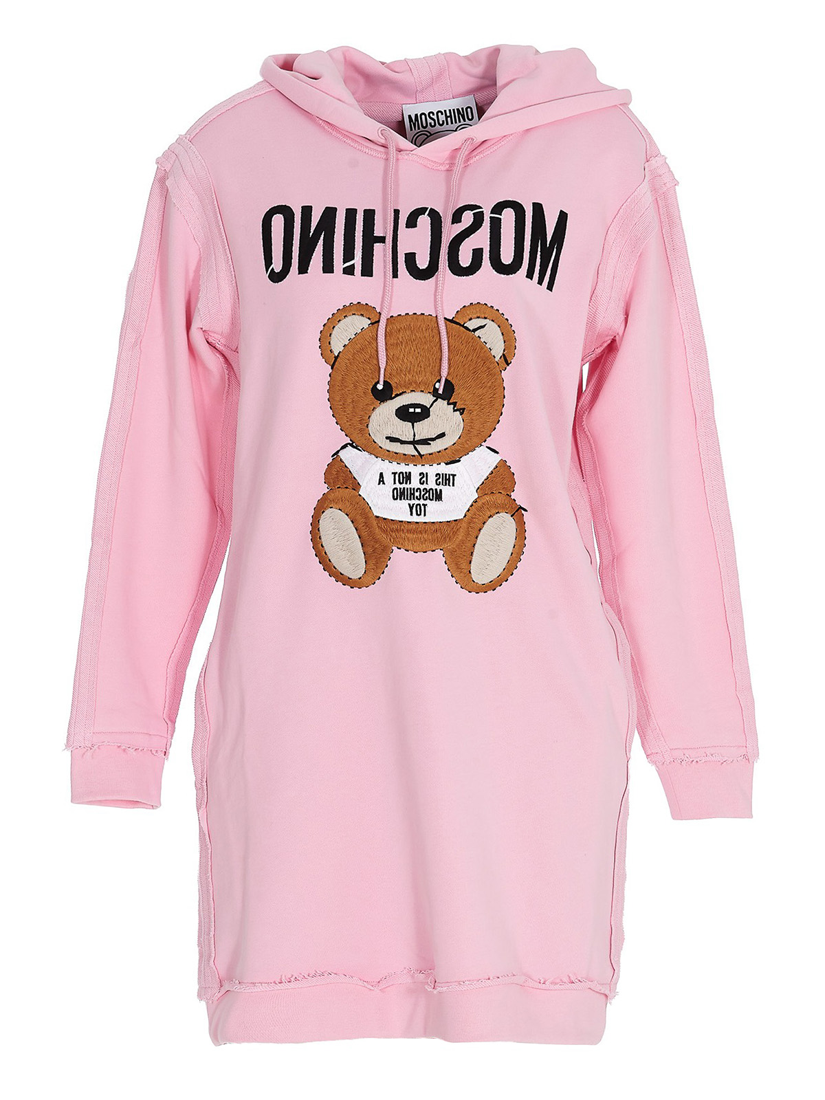 Moschino Knits PINK TEDDY HOODIE