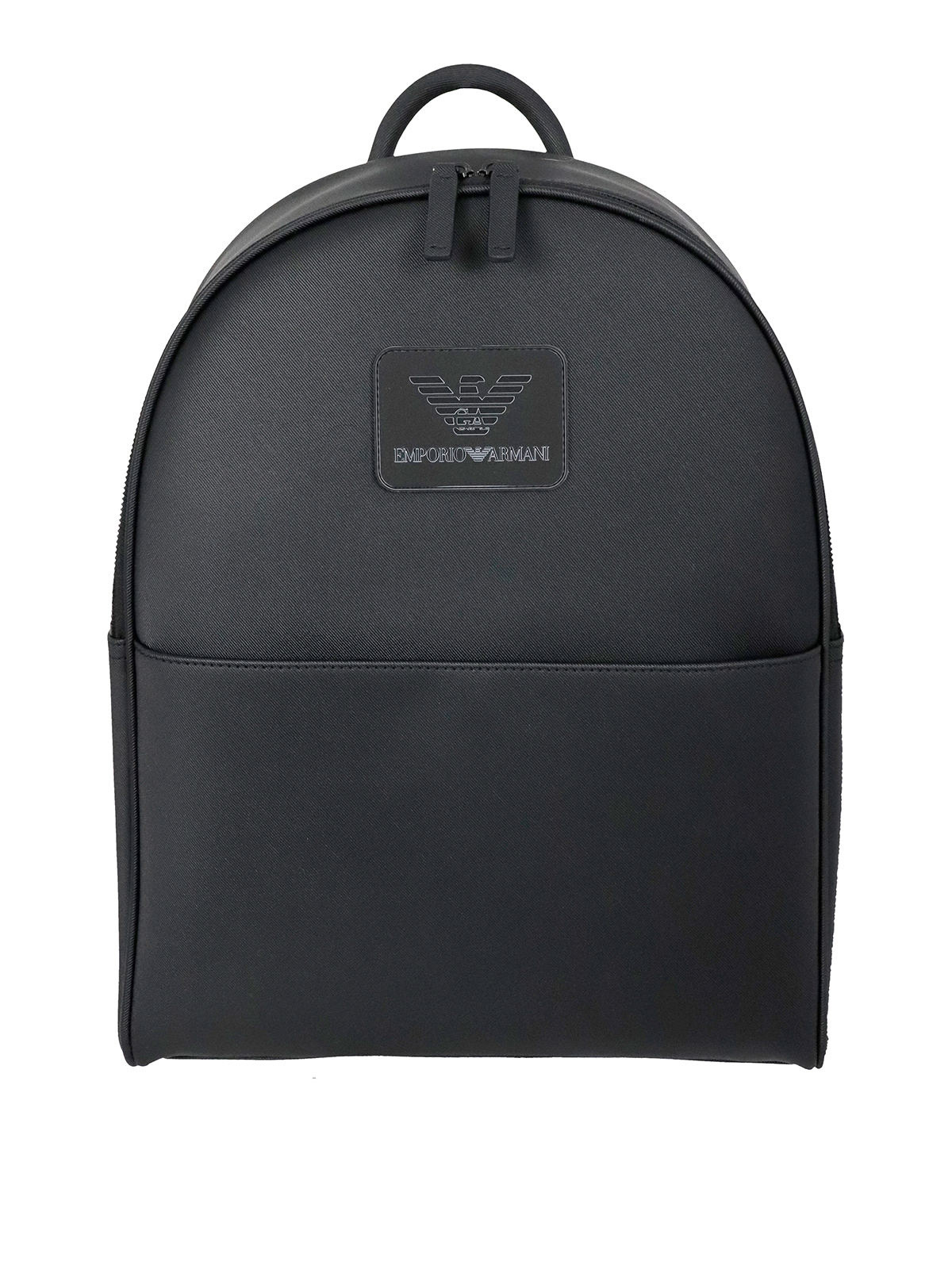 Emporio Armani Pvcs TWILL FABRIC BACKPACK