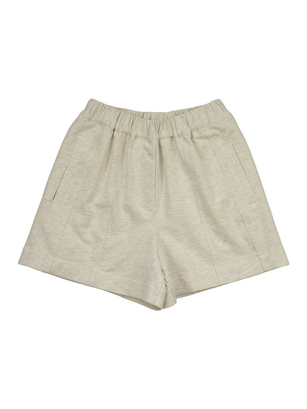 Brunello Cucinelli Shorts STRETCH COTTON TERRY CLOTH SHORTS