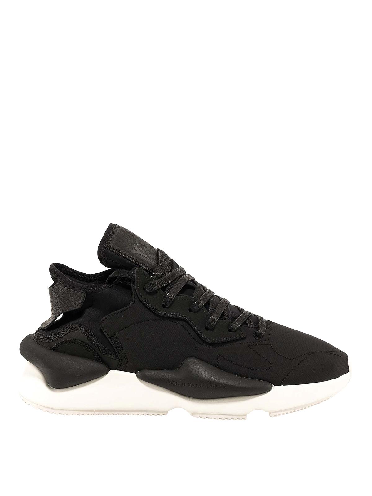 Y-3 Leathers Kaiwa sneakers
