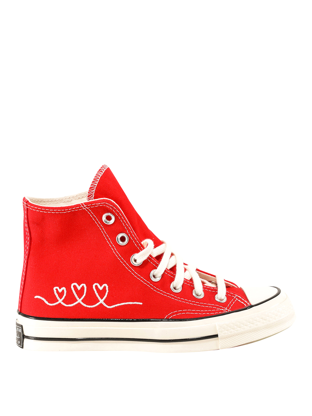 Converse HEART EMBROIDERY SNEAKERS