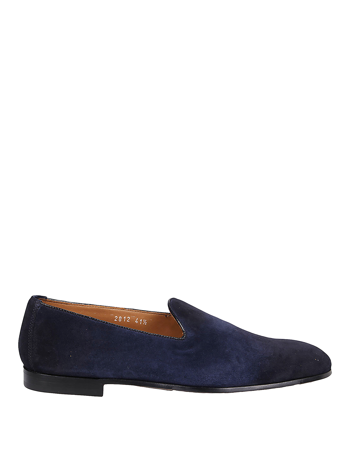 Doucal's Leathers SUEDE SLIP-ON LOAFERS