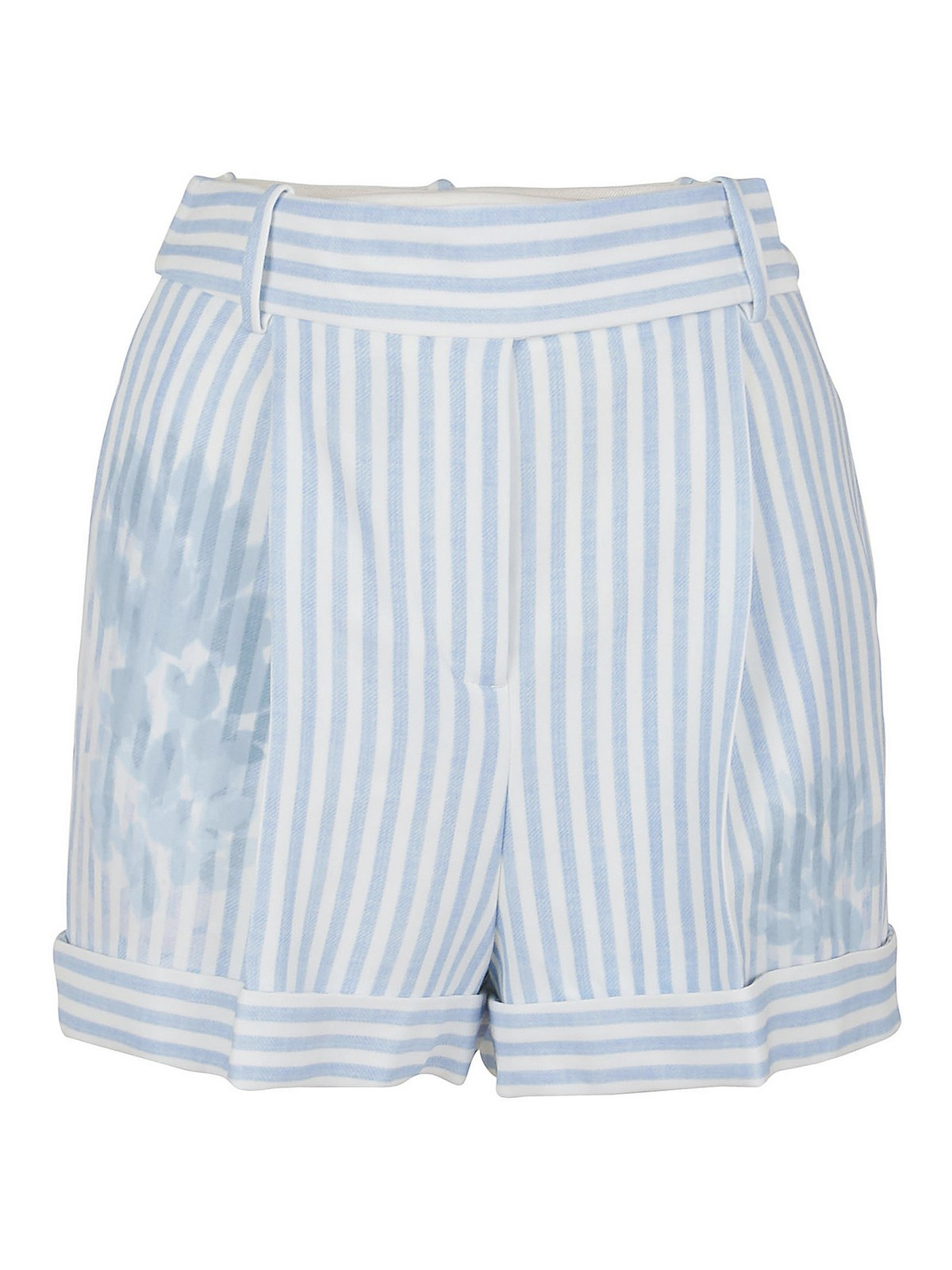 Ermanno Scervino Shorts STRIPED VISCOSE SHORTS