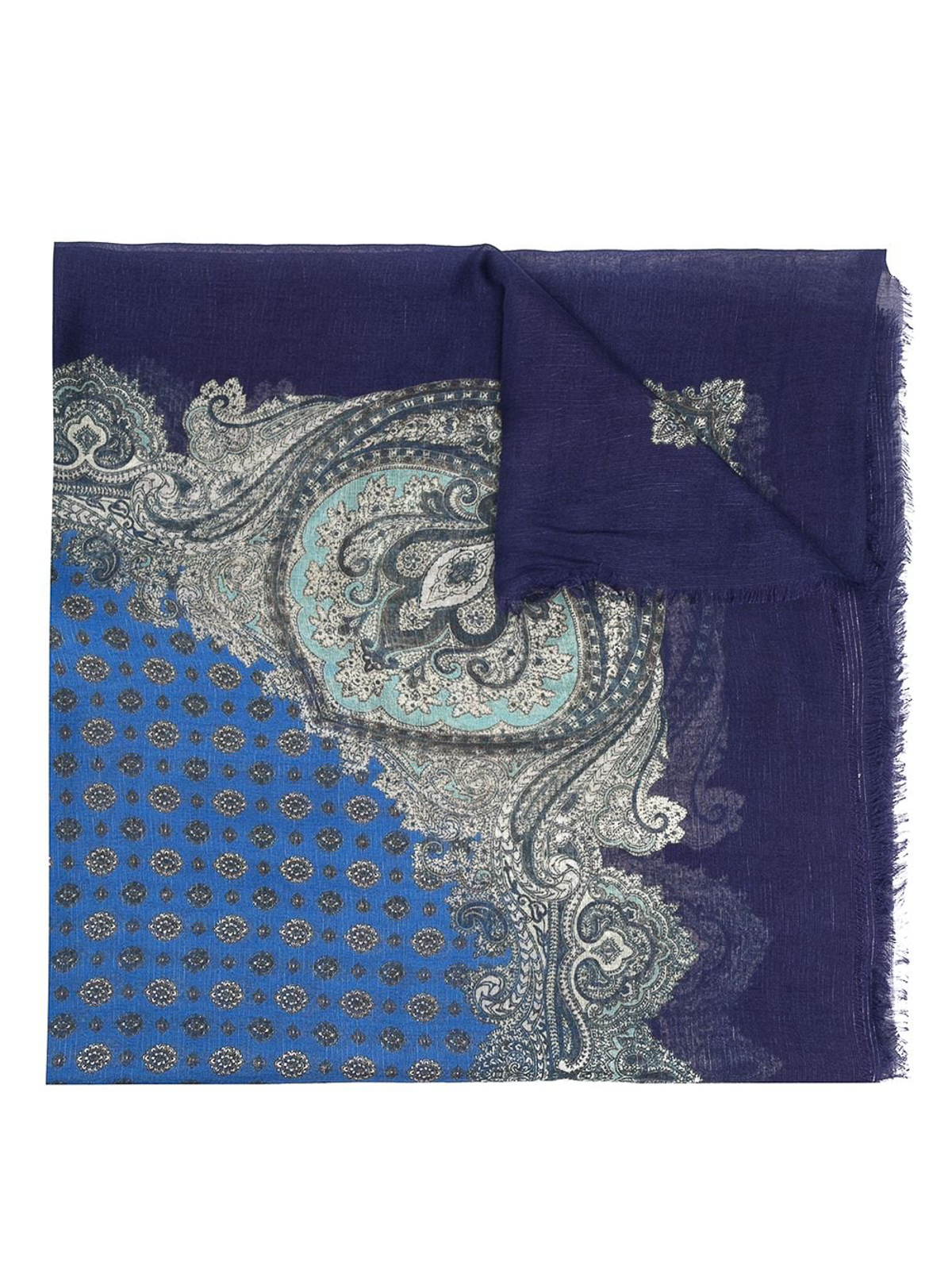 Twinset Scarves PAISLEY PRINT SCARF