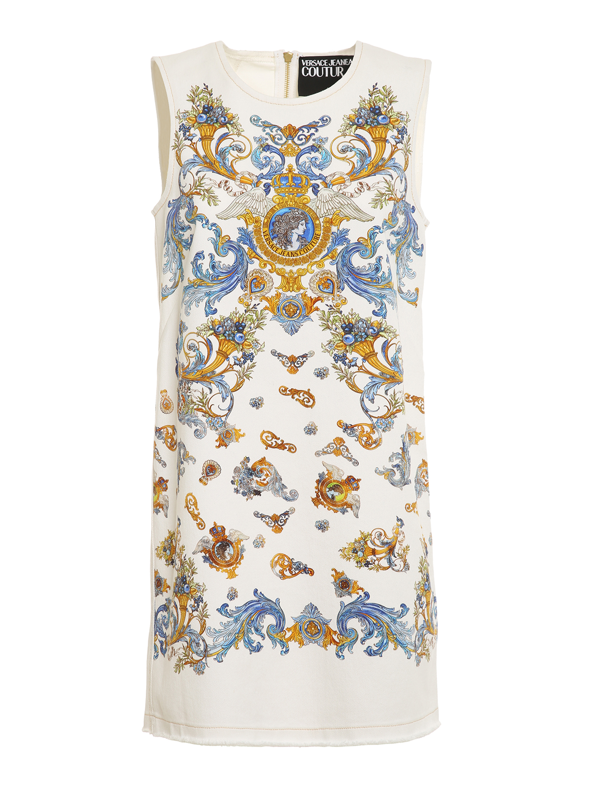Versace Jeans Couture PRINTED SLEEVELESS DRESS