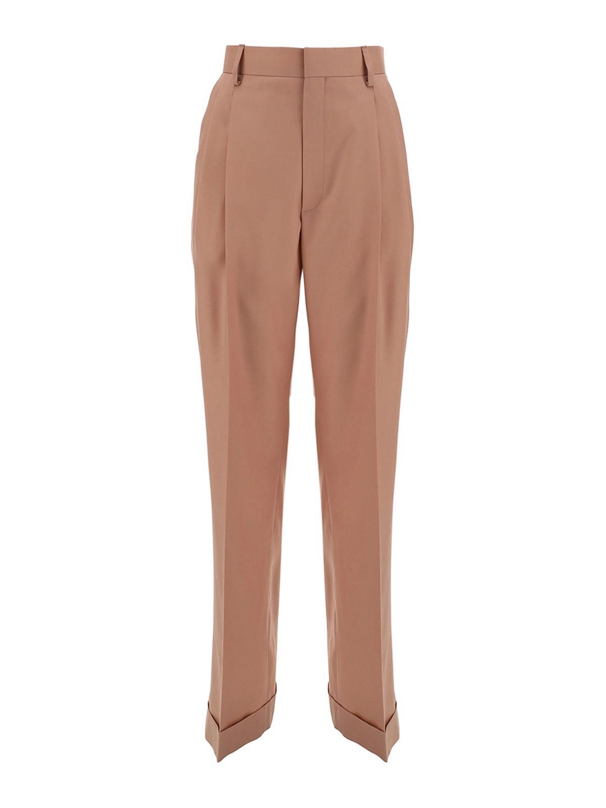 Casablanca Pants FLEECE WOOL PANTS