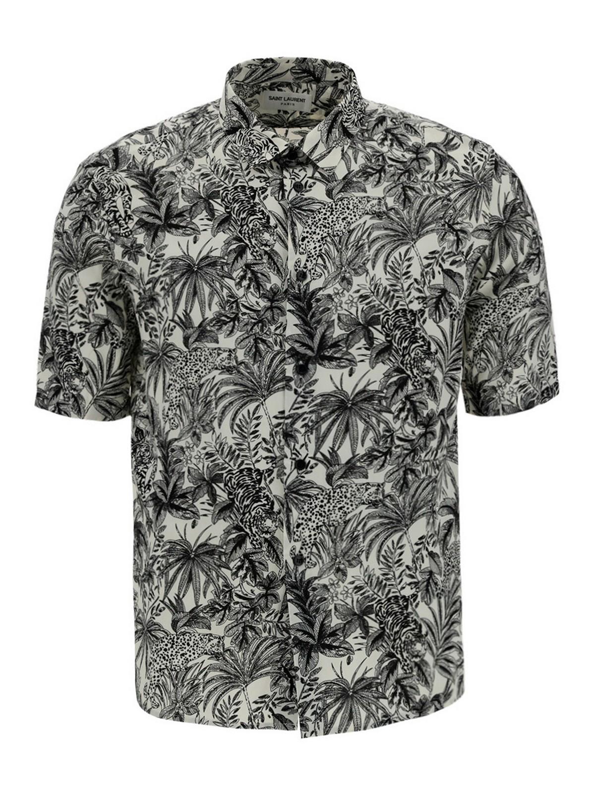 Saint Laurent Shirts VISCOSE SHIRT
