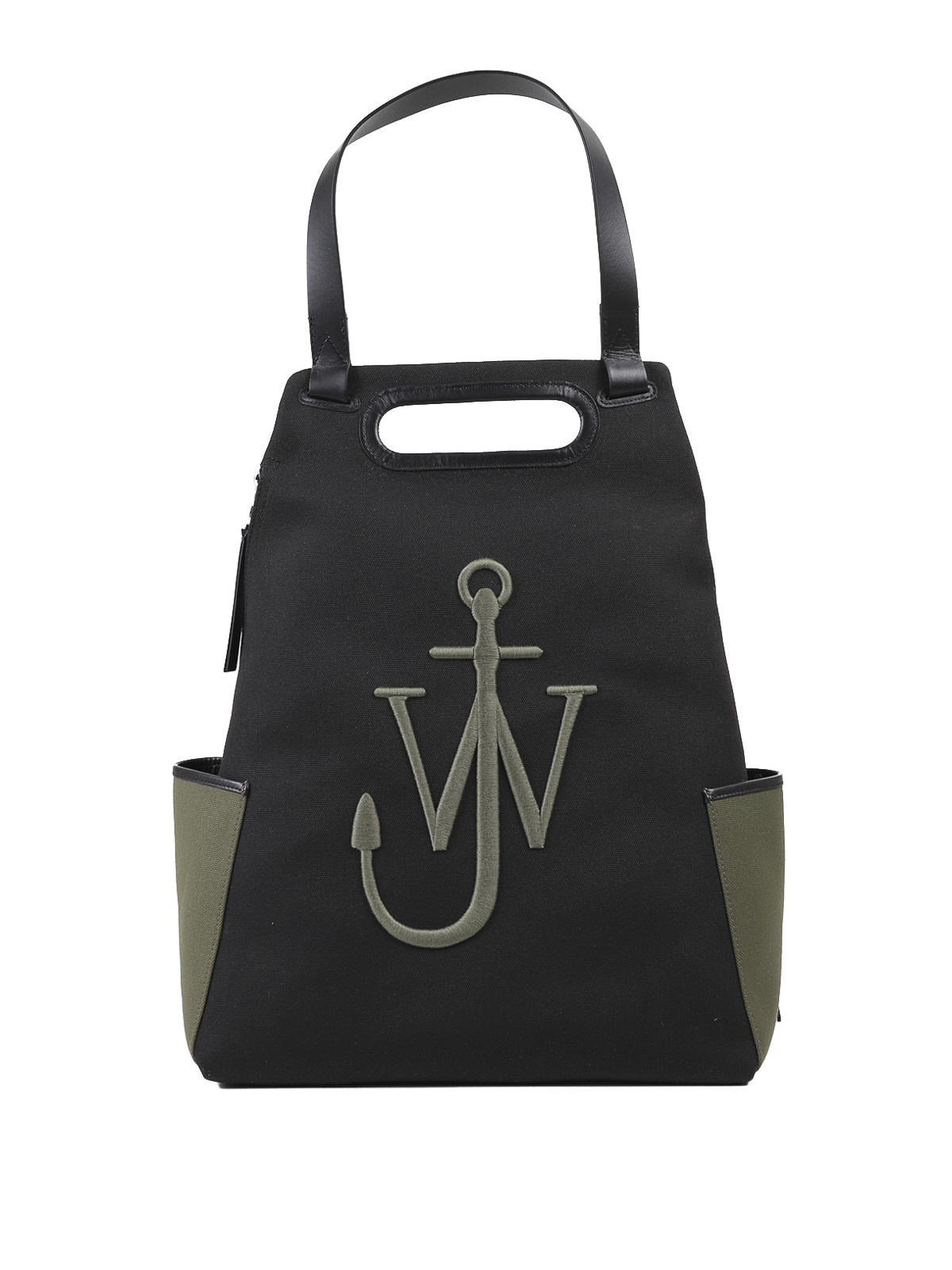 Jw Anderson ANCHOR RECYCLED FABRIC BACKPACK