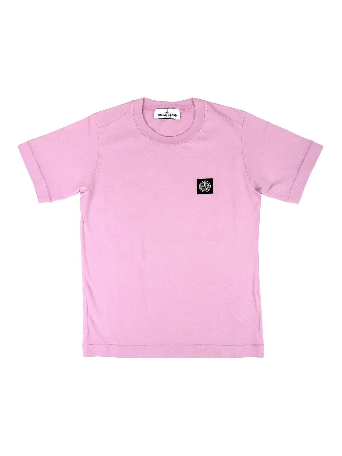 Stone Island Junior T-shirts LOGO PATCH T-SHIRT