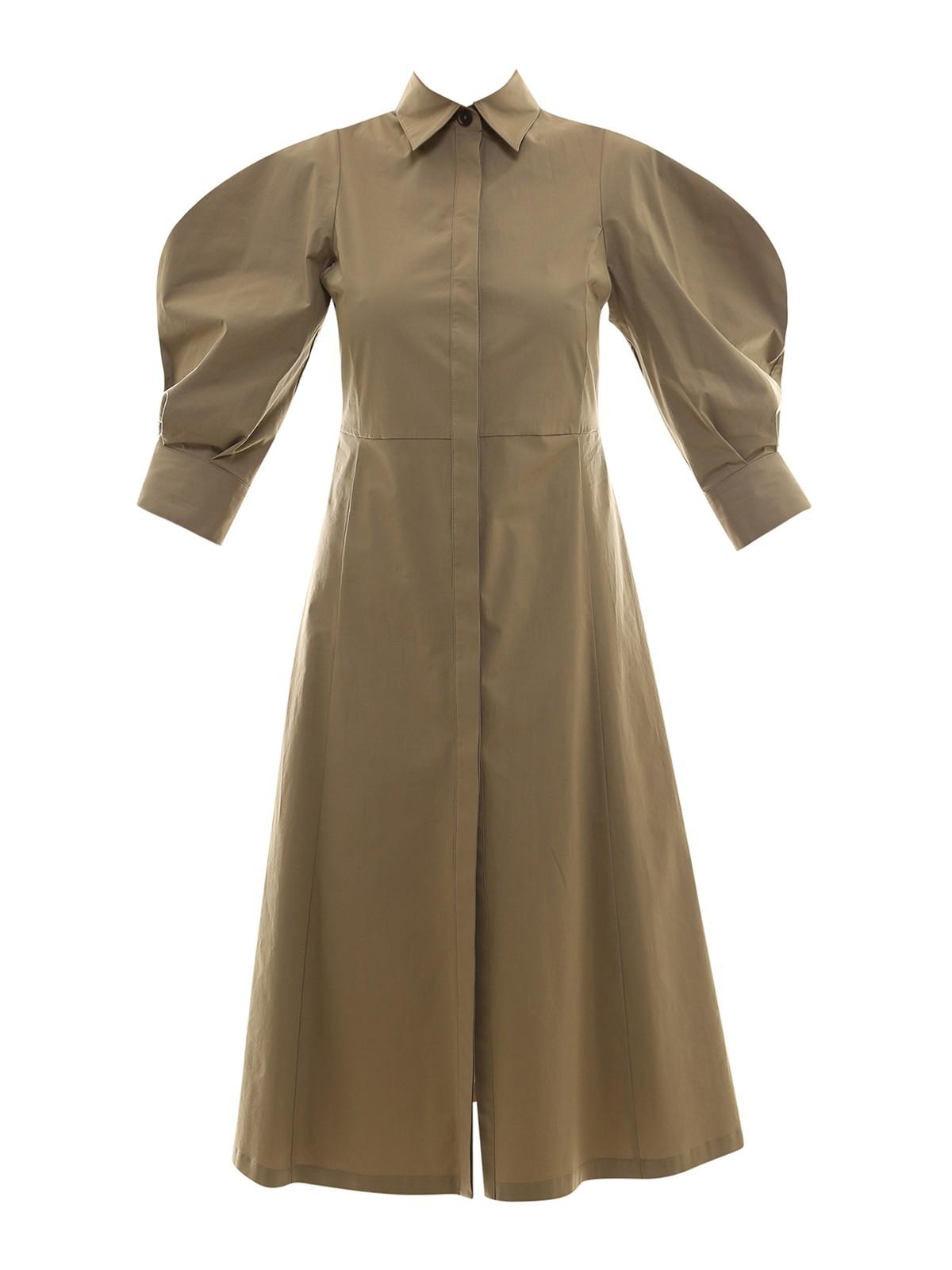 Erika Cavallini COTTON SHIRT DRESS