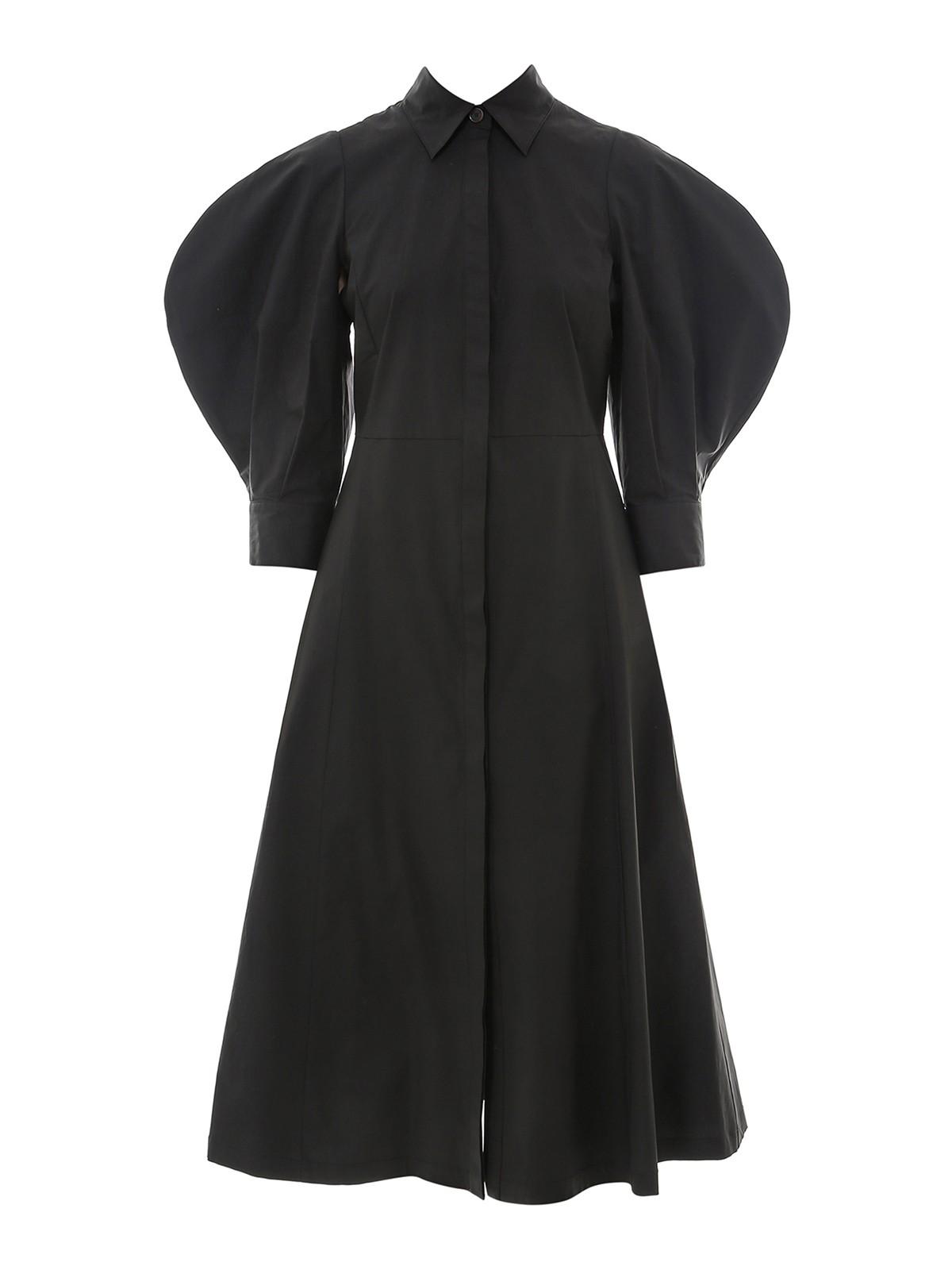 Erika Cavallini POPLIN SHIRT DRESS