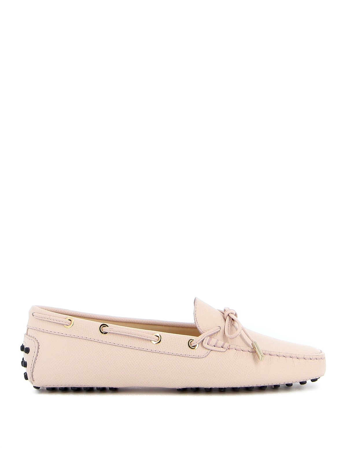 Tod's Heaven Leather Loafers In Light Pink