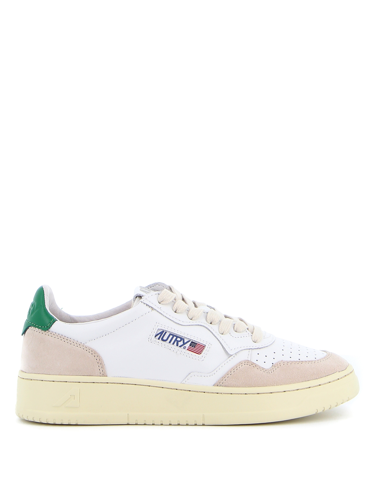 Autry Low-top Leather Sneakers In White