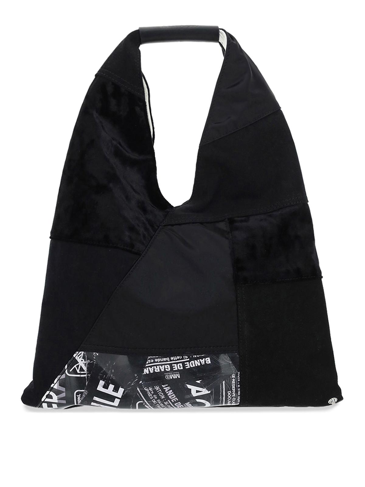 Mm6 Maison Margiela Leathers JAPANESE PATCHWORK TOTE BAG