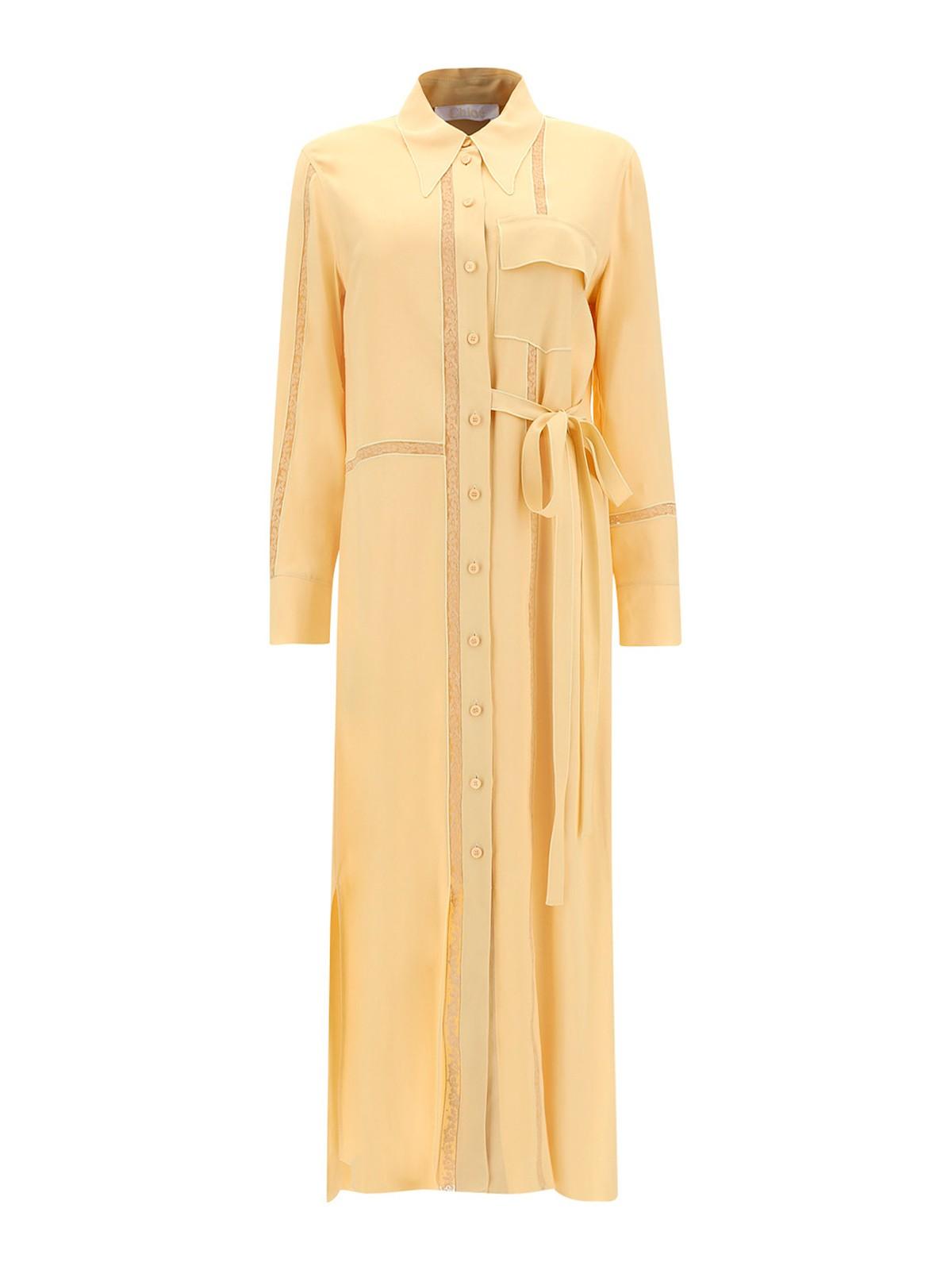 Chloé Midi dresses CREPE SHIRT DRESS