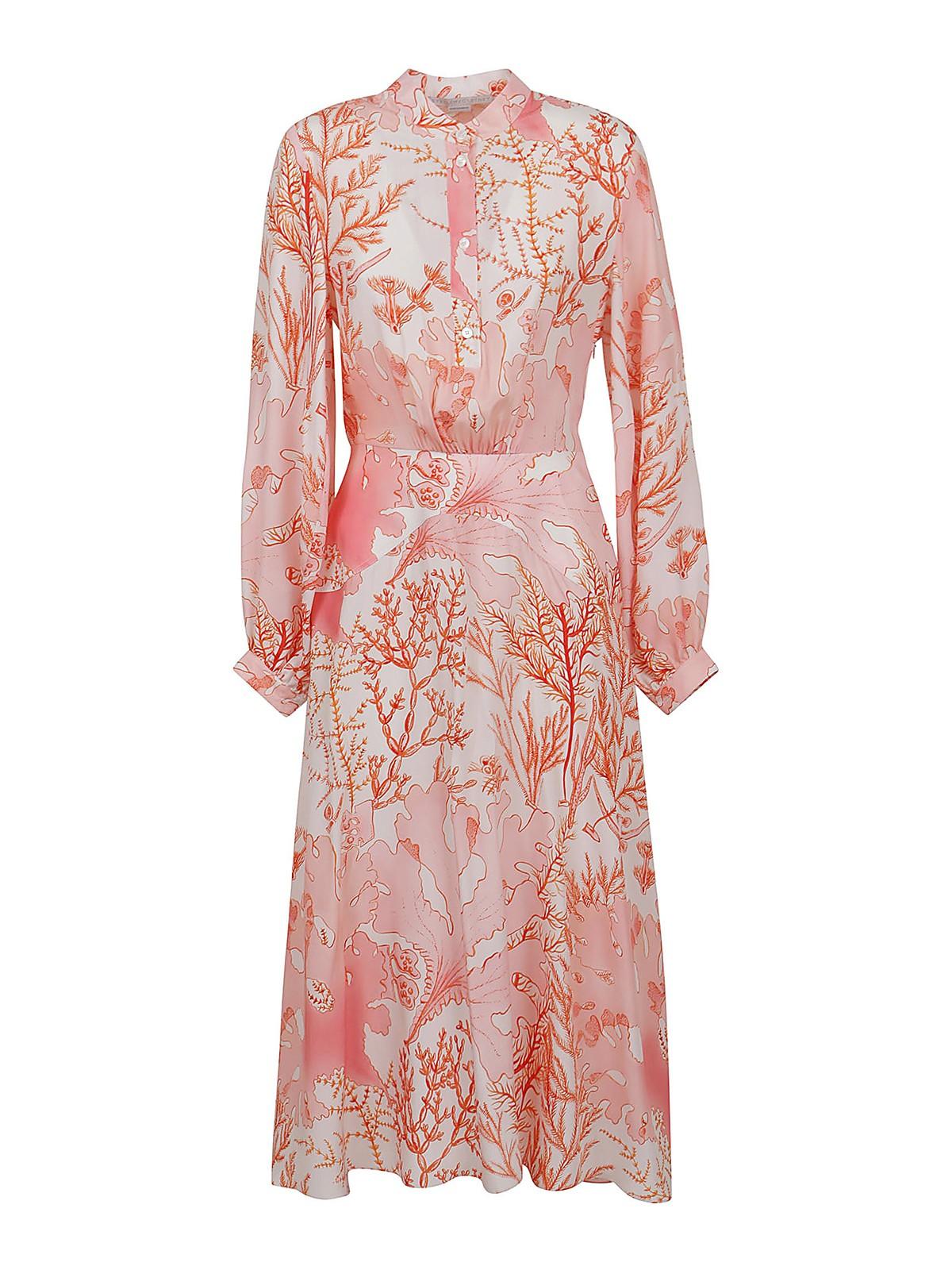 Stella Mccartney Clothing ALYSSA SILK DRESS