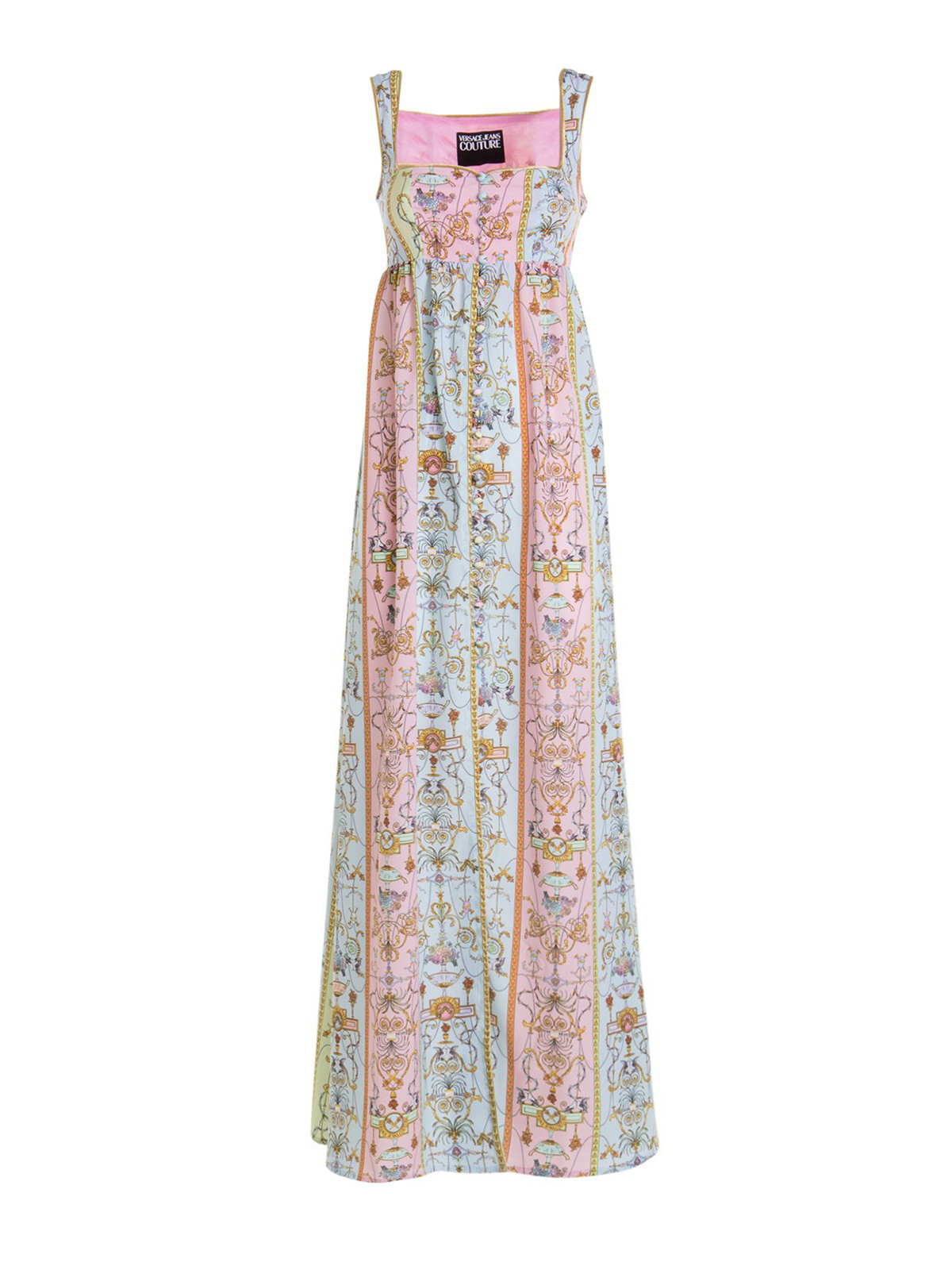 Versace Jeans Couture Maxi dresses VERSAILLES PRINT EMPIRE DRESS