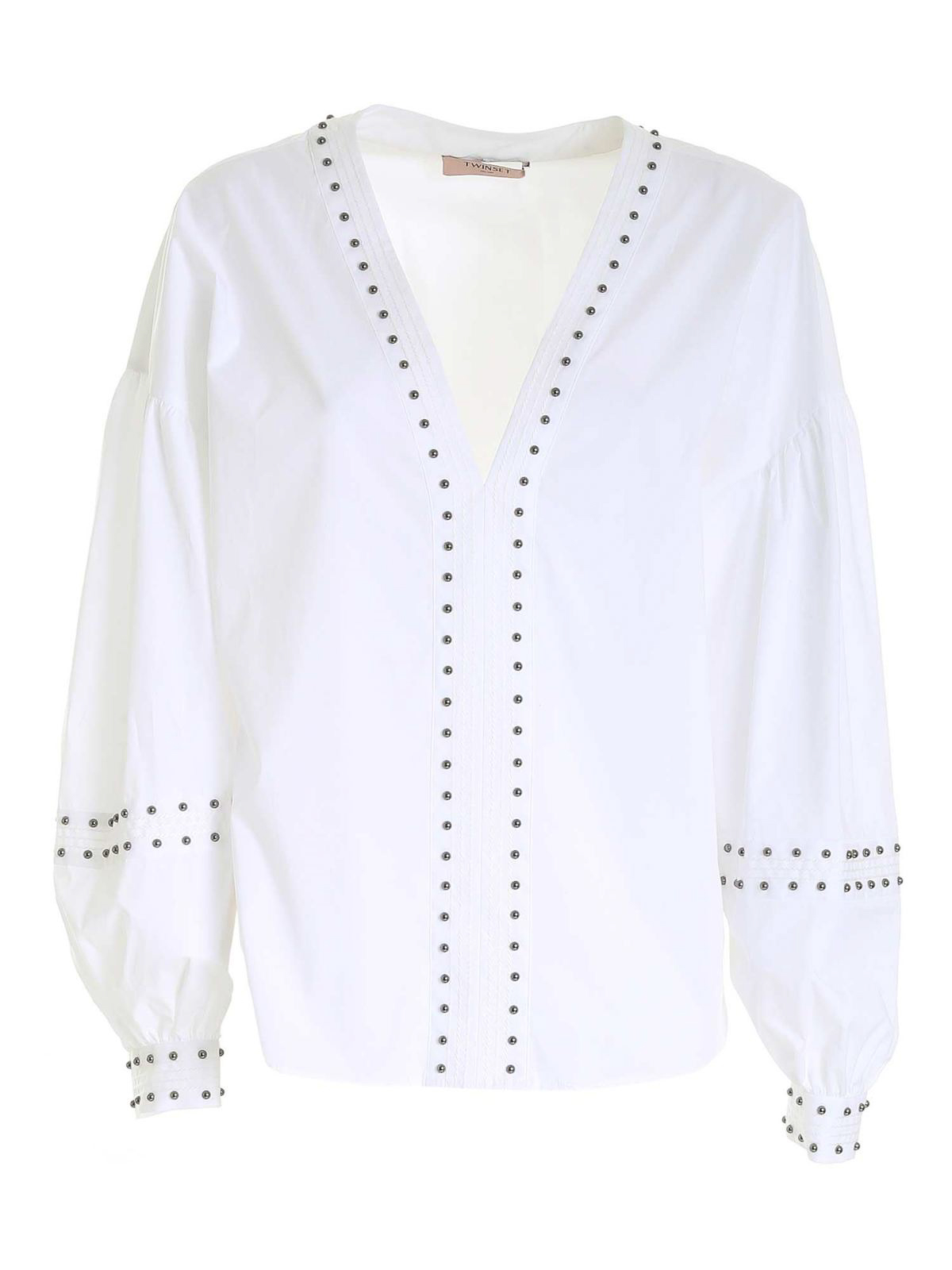 Twinset STUDDED BLOUSE