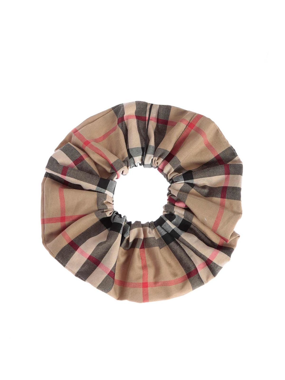 Burberry CHECK ELASTIC IN BEIGE