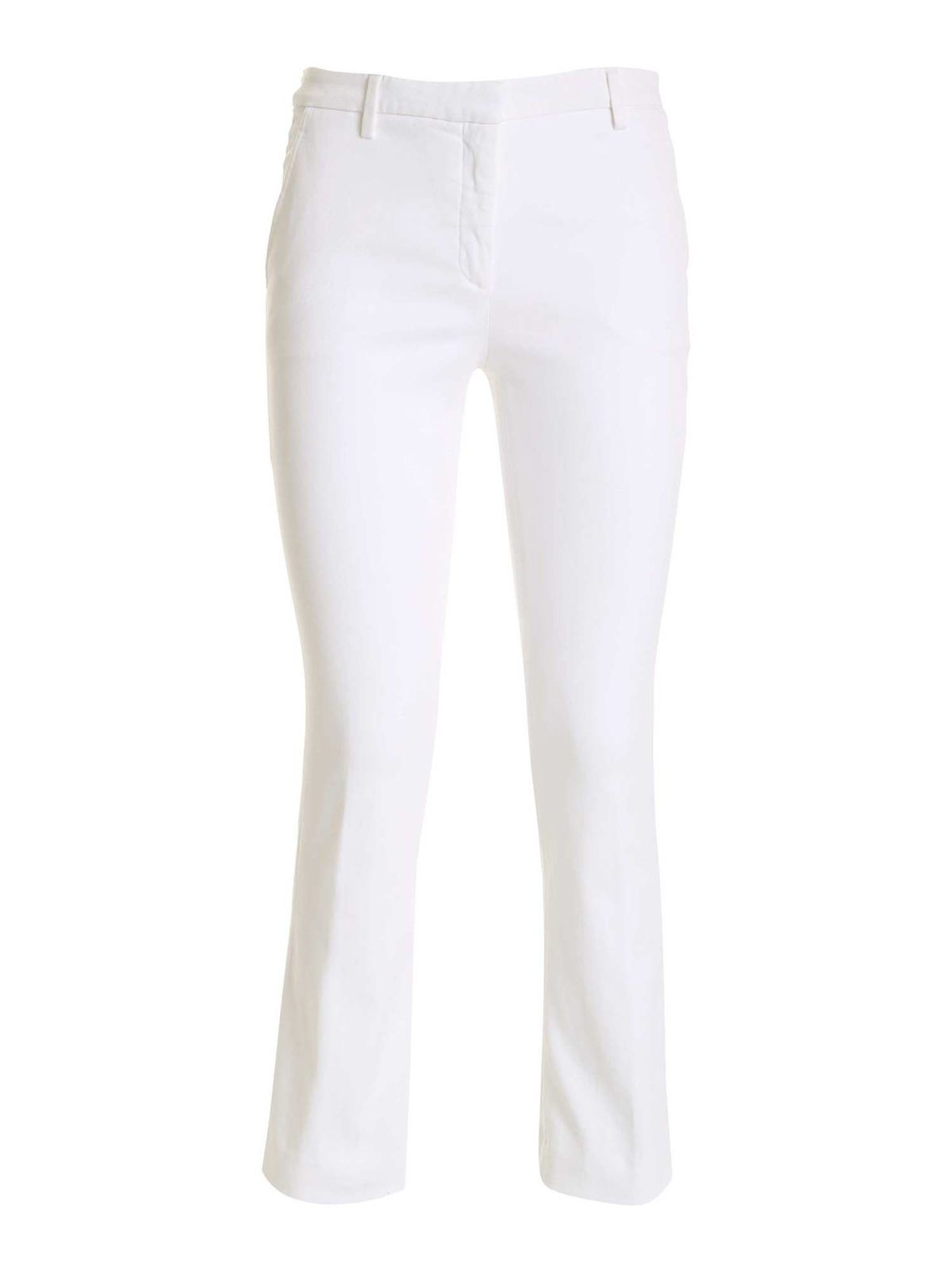 True Royal ROSS CHINO PANTS IN WHITE