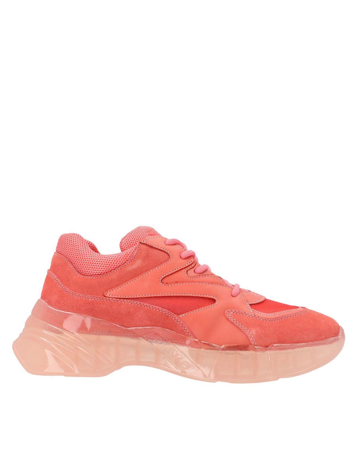 Pinko Leathers RUBINO 6 SNEAKERS IN PINK