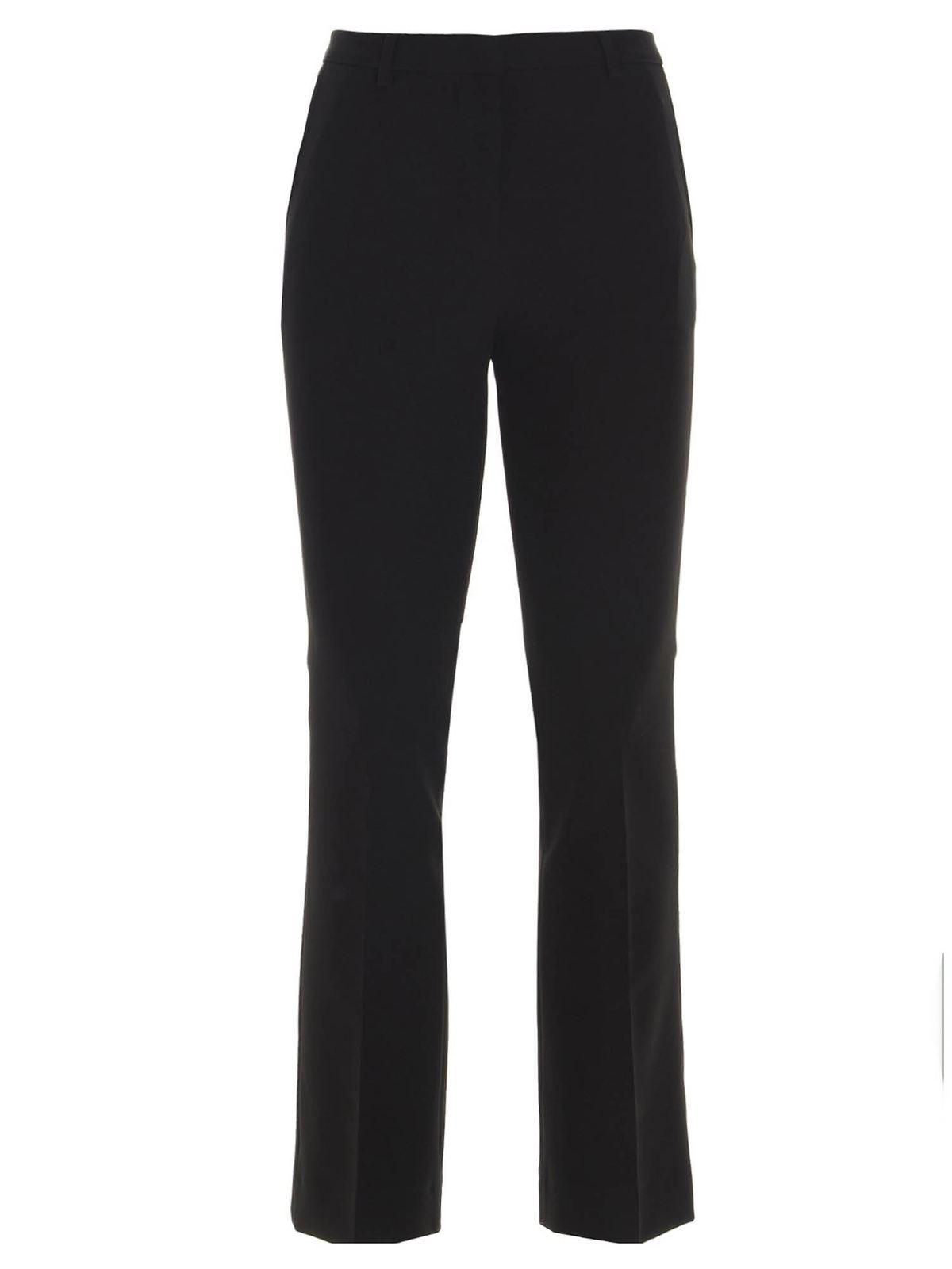 Pt Torino Wools JAINE PANTS IN BLACK