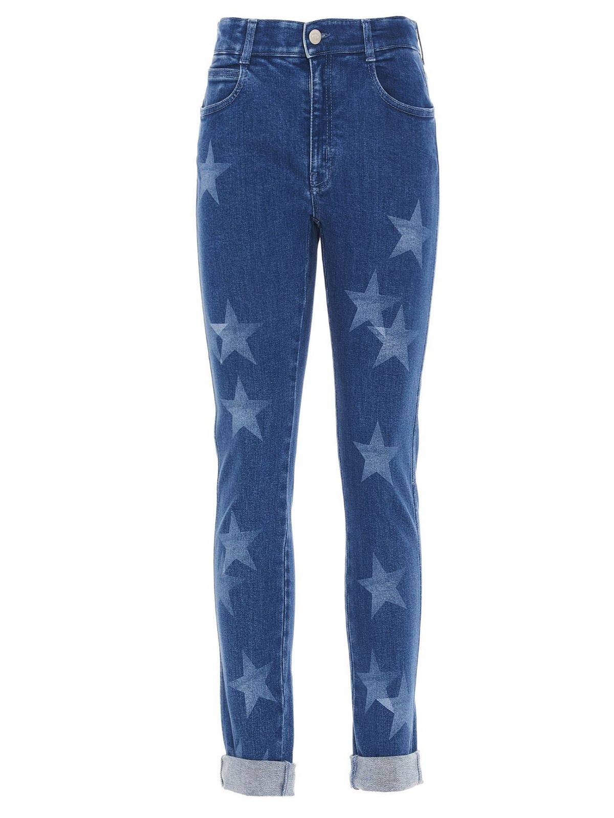 Stella Mccartney NEW STARS JEANS IN BLUE