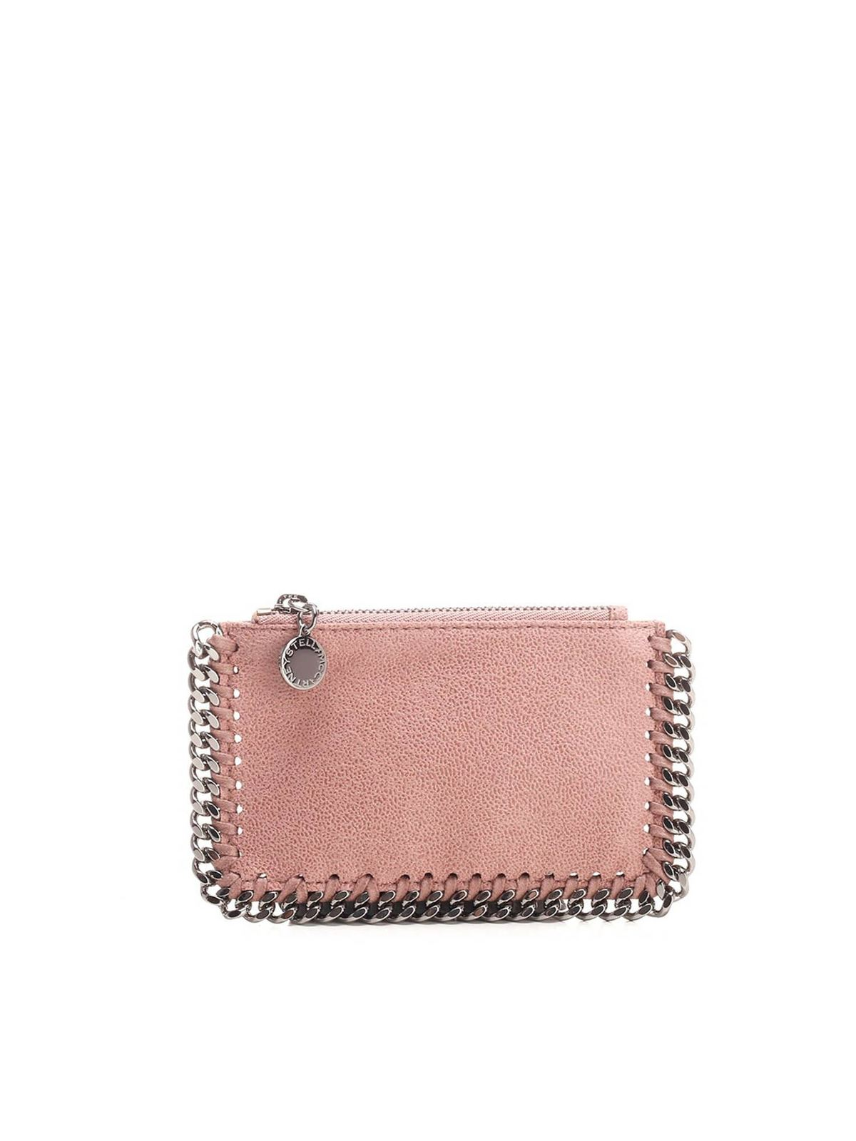 Stella Mccartney FALABELLA CARD HOLDERS IN PINK