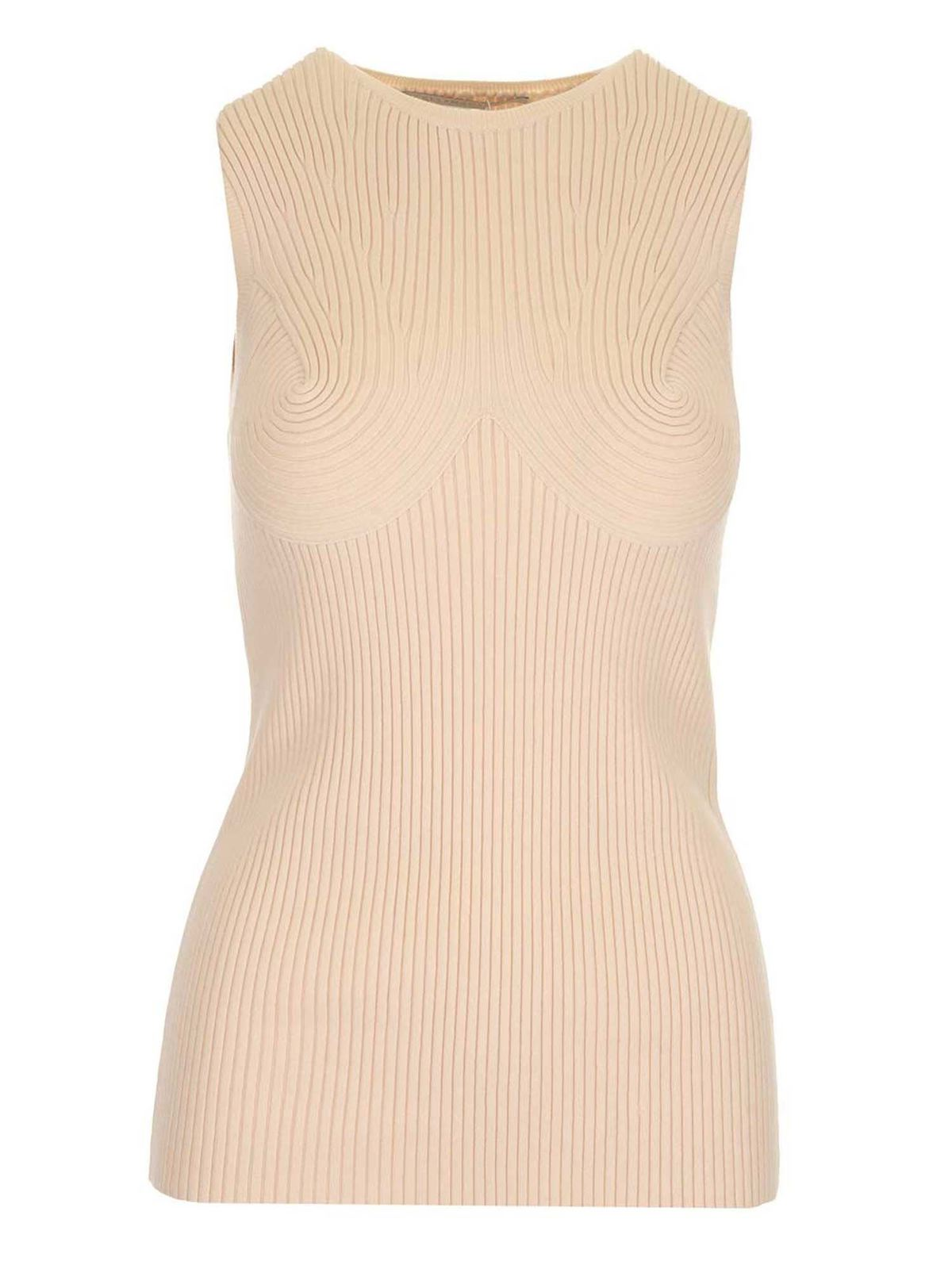 Stella Mccartney Cottons RIBBED TOP