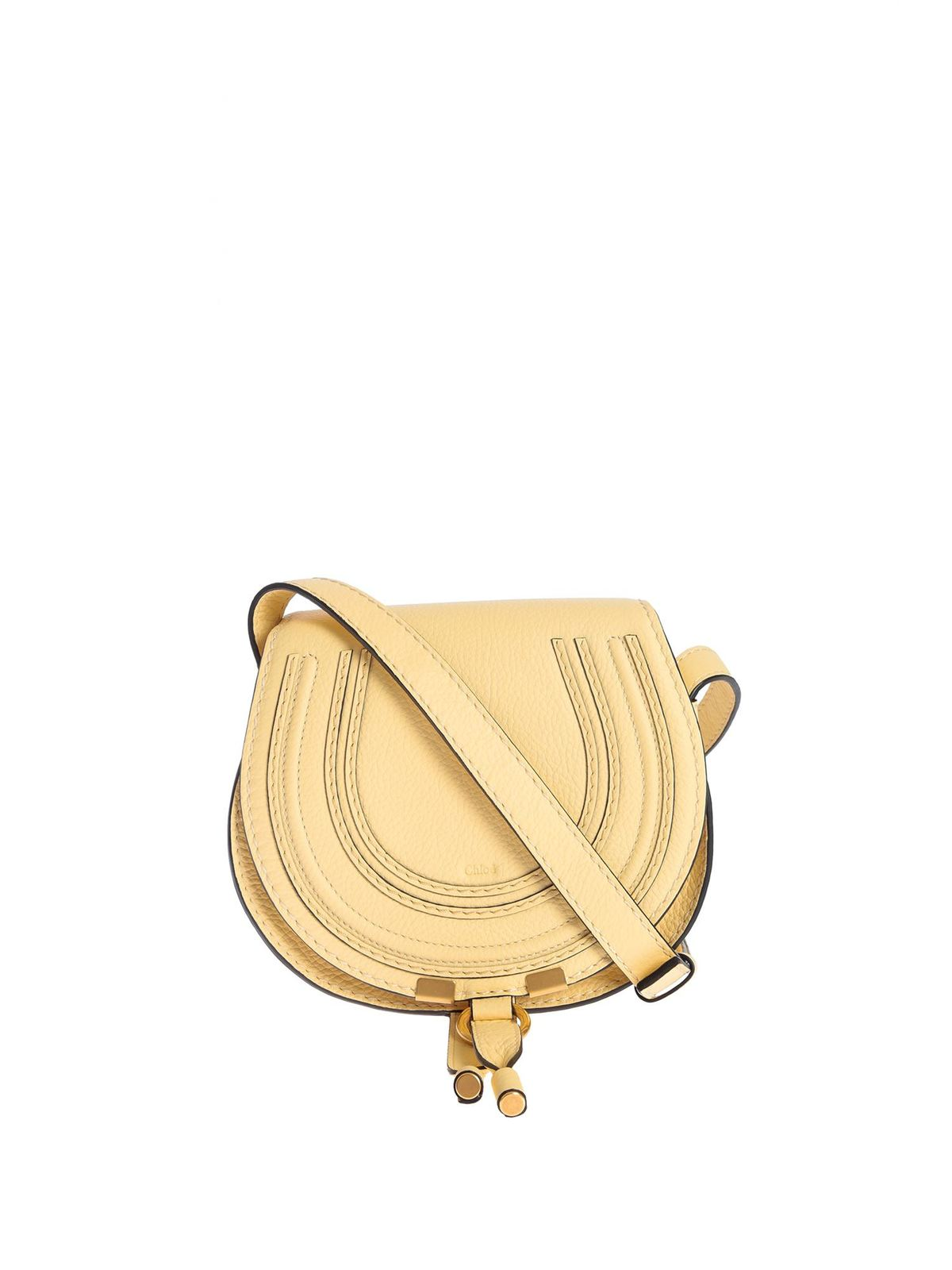 Chloé Canvases MARCIE MINI BAG IN SOFTY YELLOW