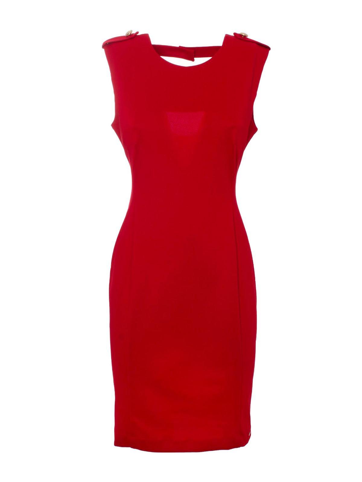 Liu •jo MILANO STITCH DRESS IN RED