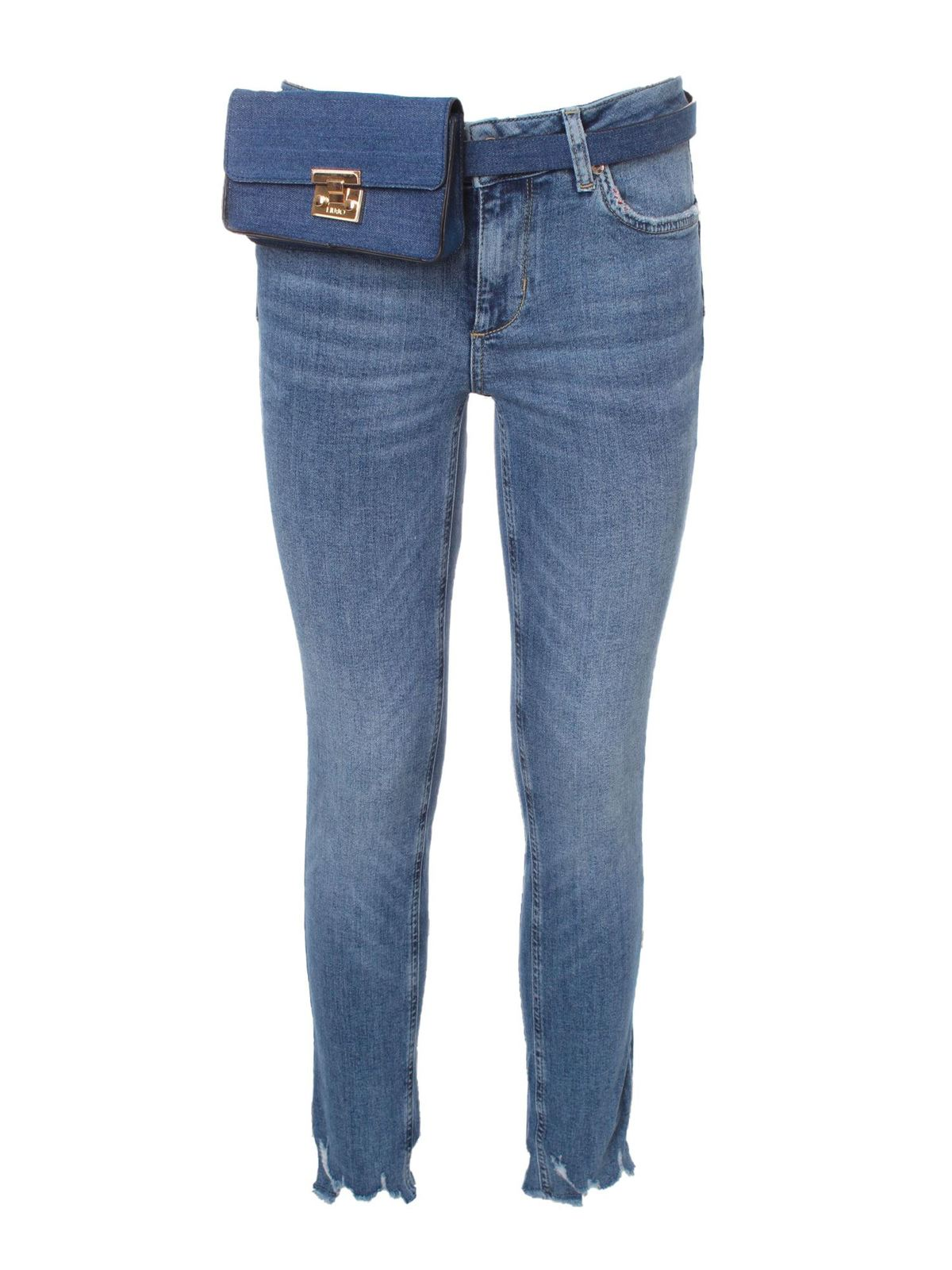 Liu •jo JEANS WITH POUCH IN BLUE