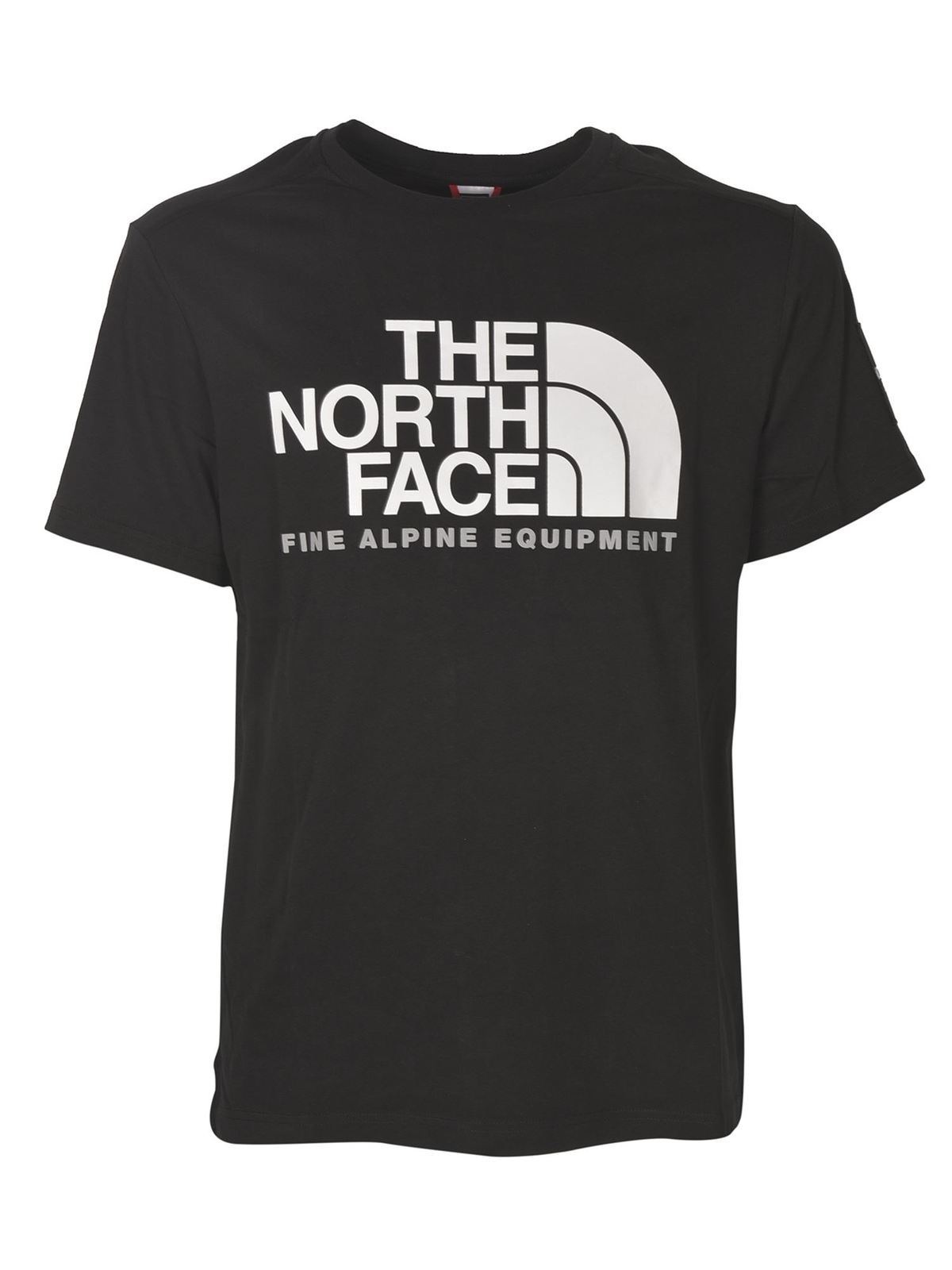 The North Face T-shirts FINE ALPINE T-SHIRT IN BLACK