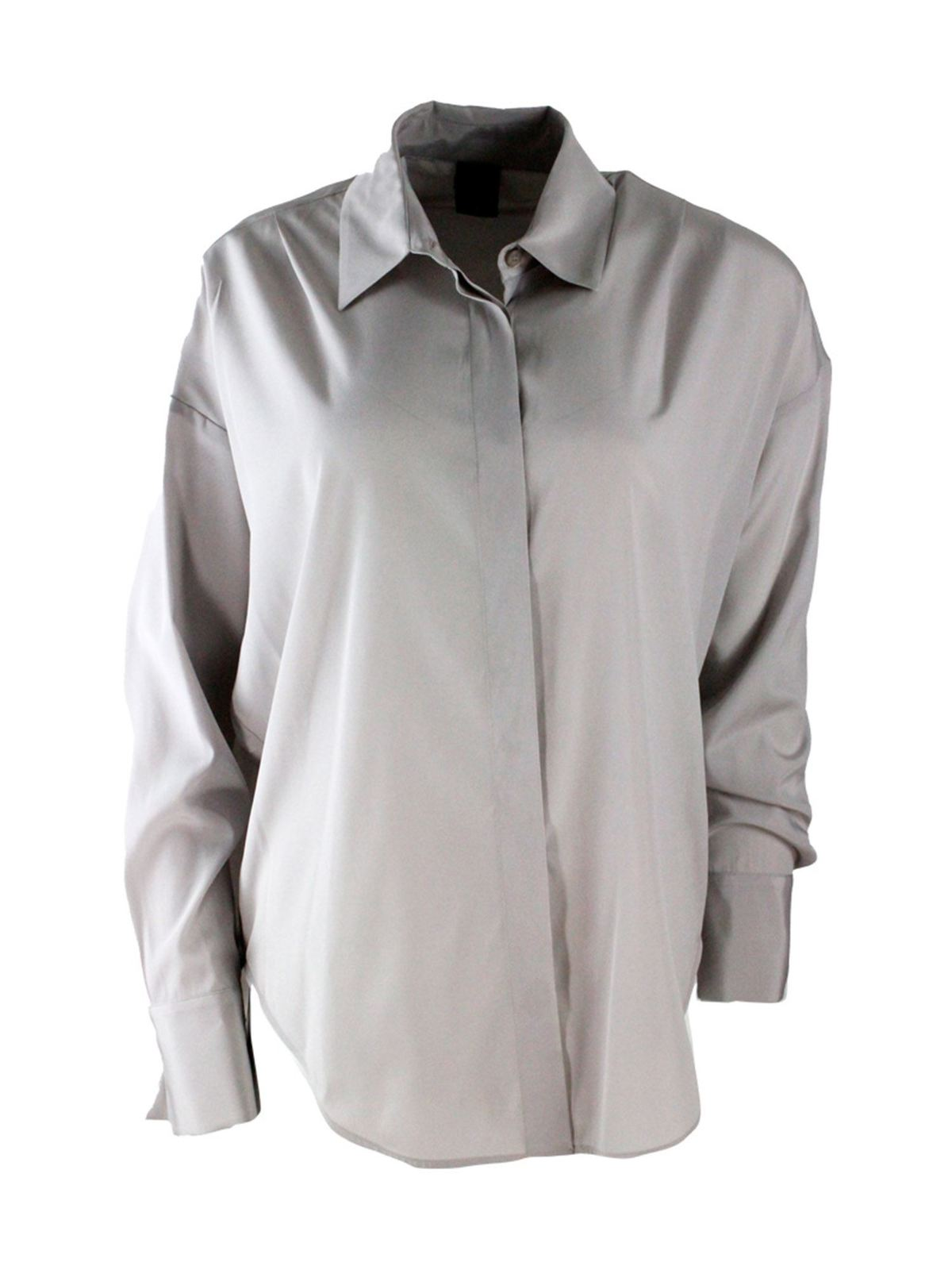 Lorena Antoniazzi SILK SHIRT IN GRAY