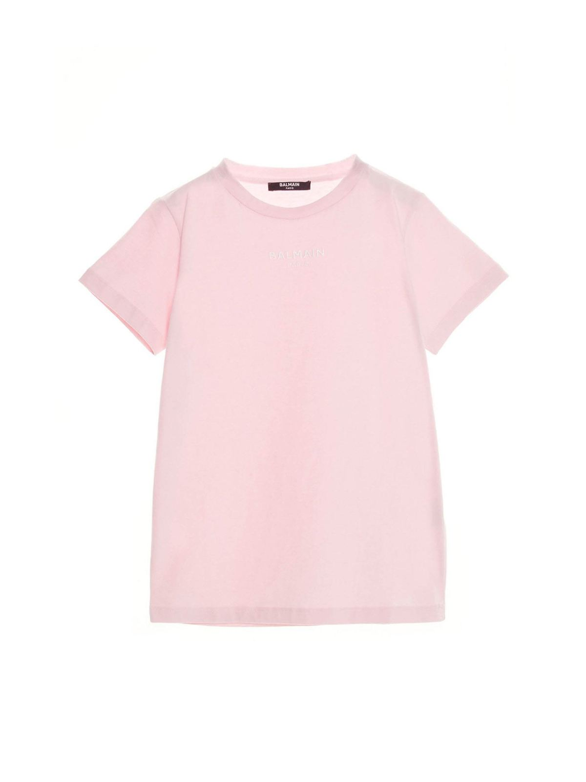 Balmain LOGO T-SHIRT IN PINK