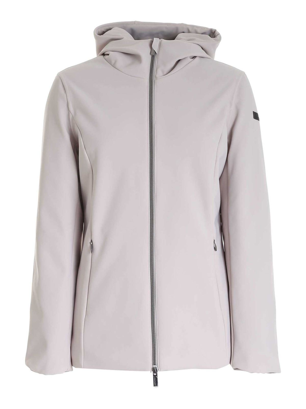 Rrd Roberto Ricci Designs Winter Storm Lady Jacket In Ivory Color In Cream