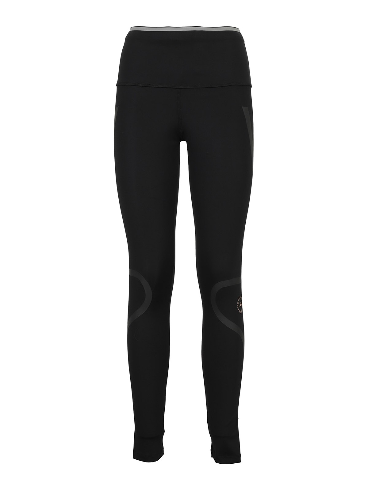 Adidas By Stella Mccartney Recycled Polyester Leggings In Black