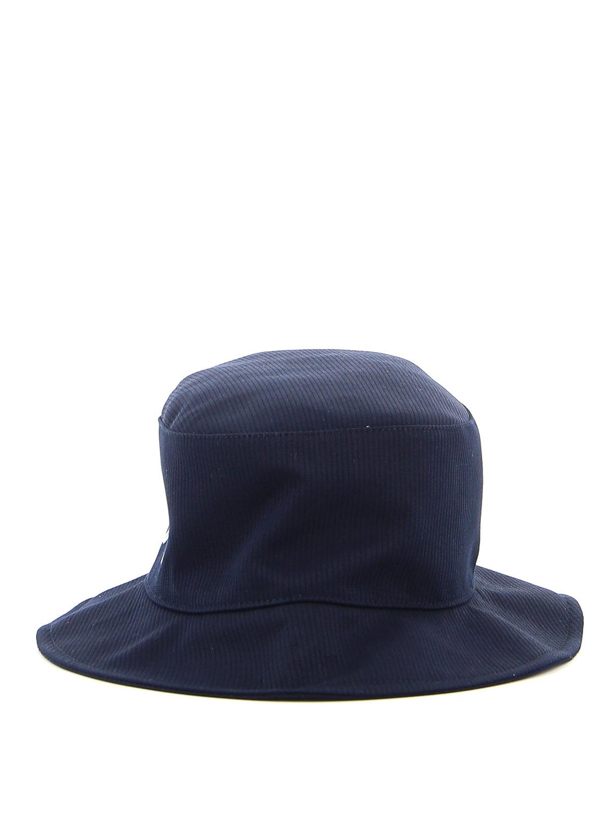 A.p.c. LOGO PRINT BUCKLET HAT